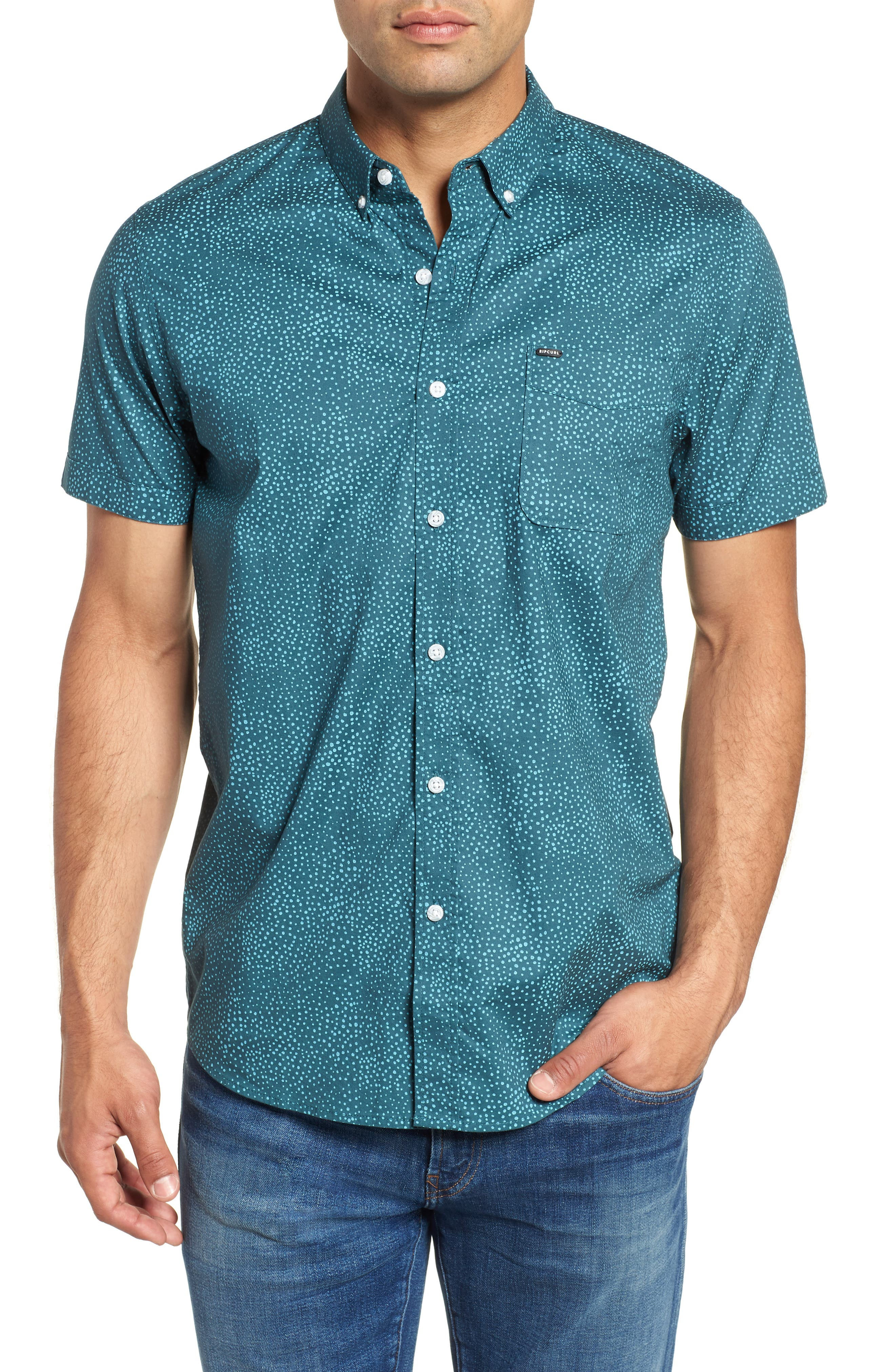 Money Tree Woven Shirt,                         Main,                         color, Tapestry