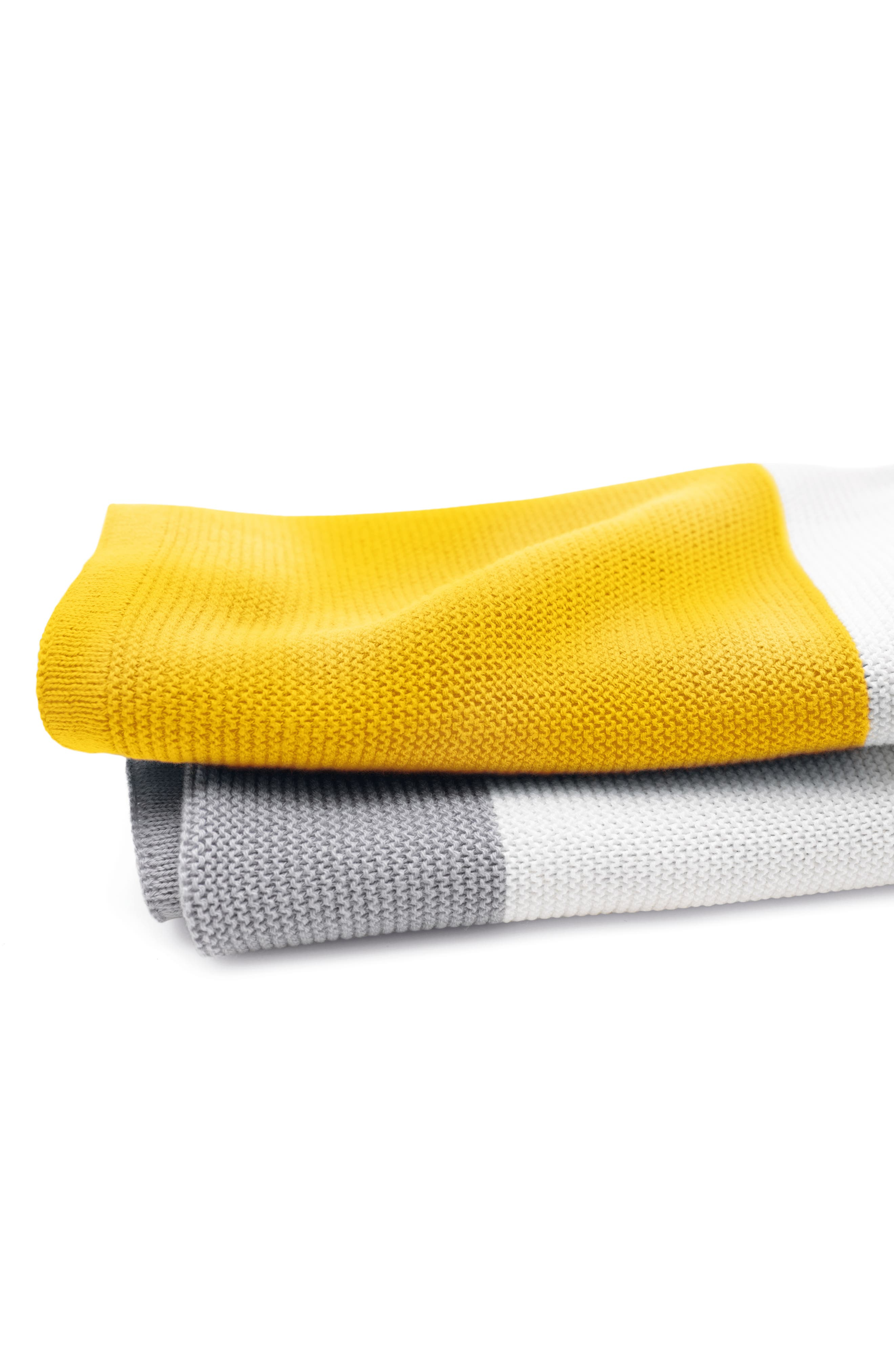 Light Cotton Blanket,                             Alternate thumbnail 2, color,                             Bright Yellow