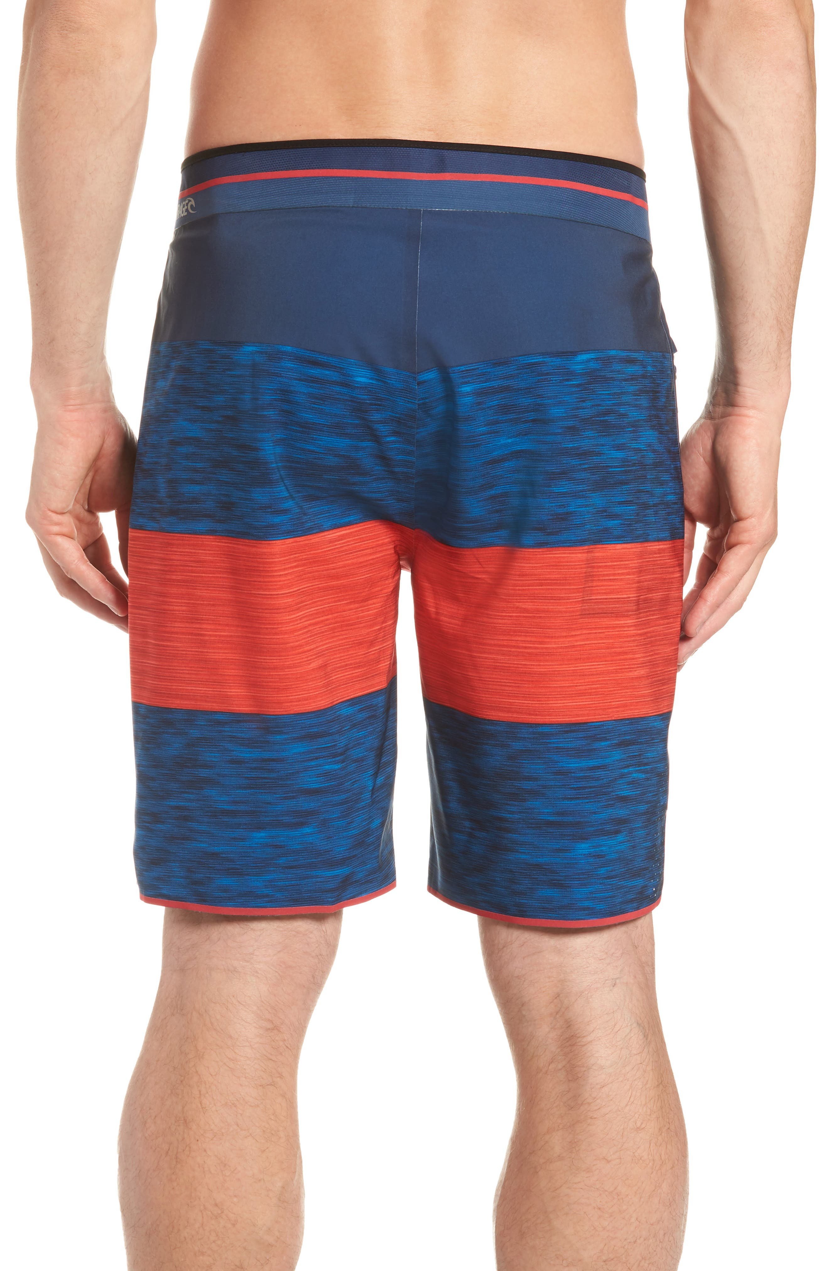 Mirage Bends Ultimate Board Shorts,                             Alternate thumbnail 2, color,                             Navy