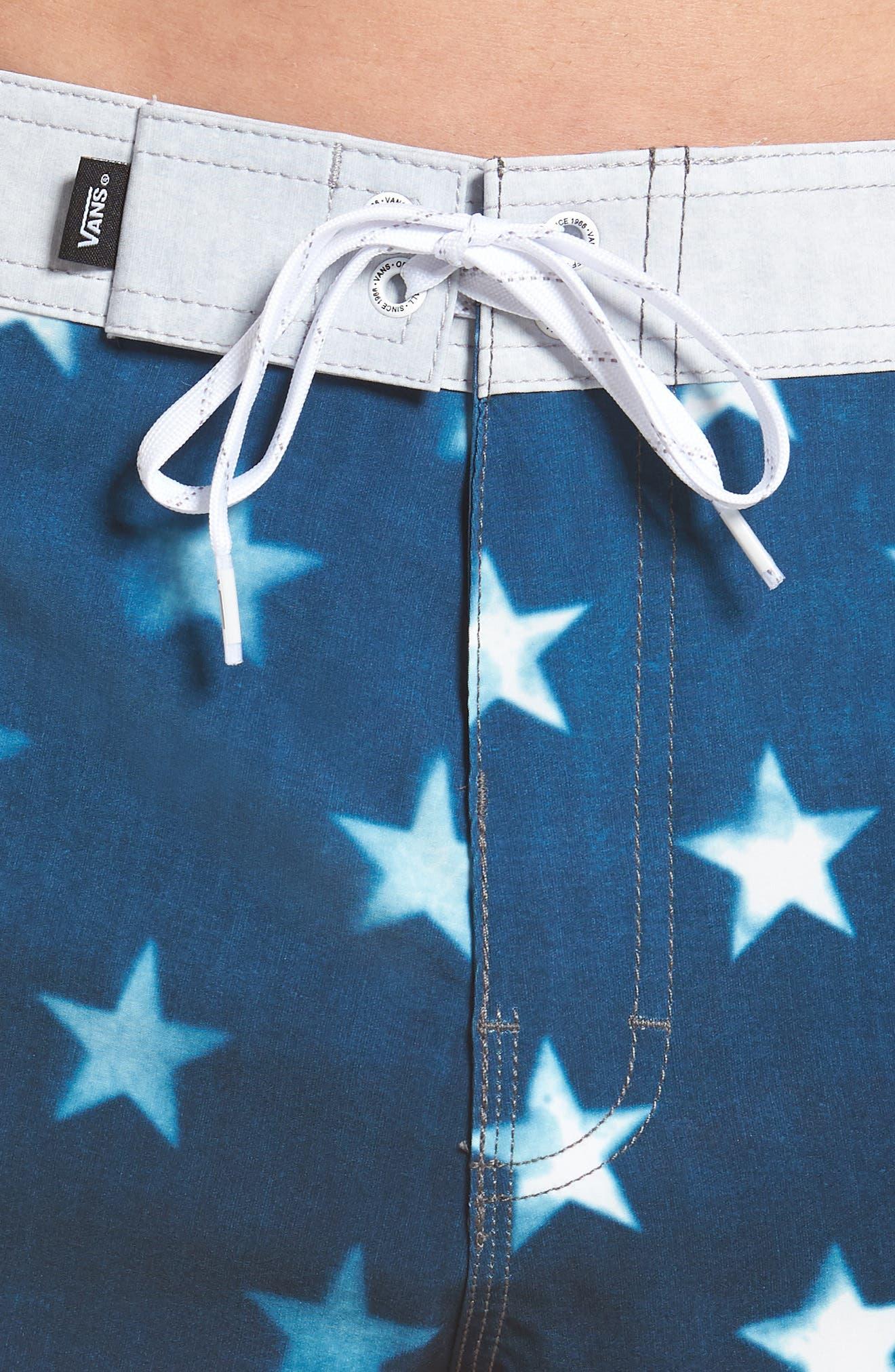 Era Board Shorts,                             Alternate thumbnail 5, color,                             American Flag