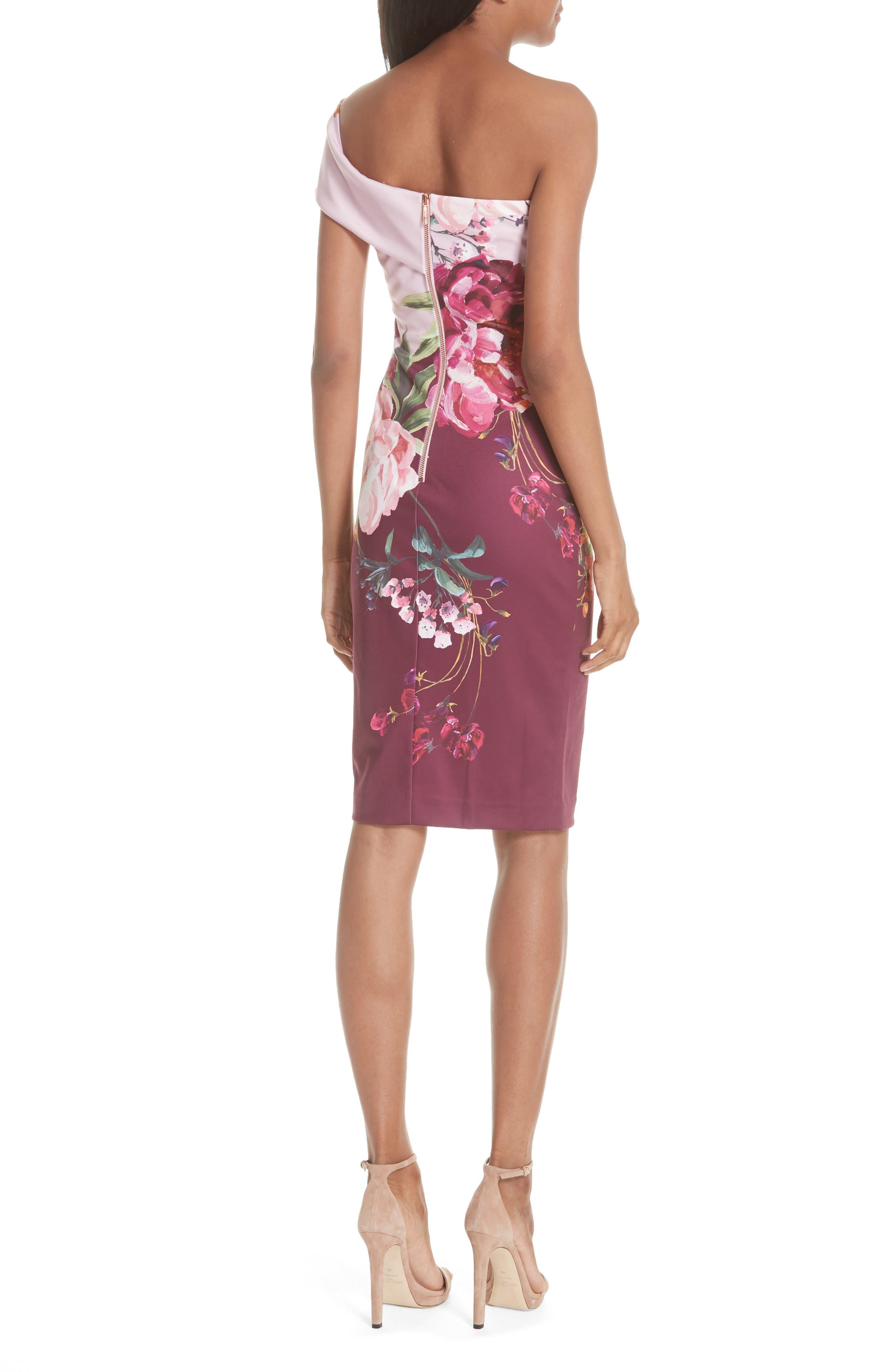 Irlina Serenity Sheath Dress,                             Alternate thumbnail 2, color,                             Lilac