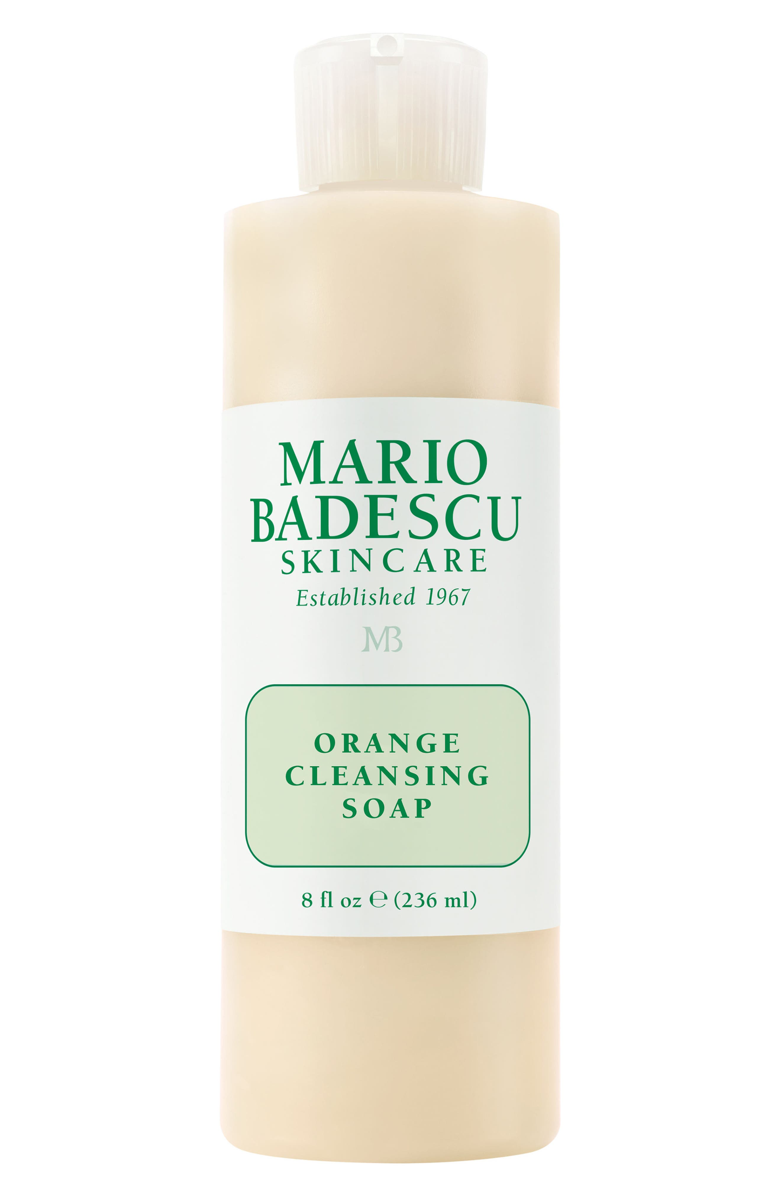 Orange Cleansing Soap,                         Main,                         color, No Color