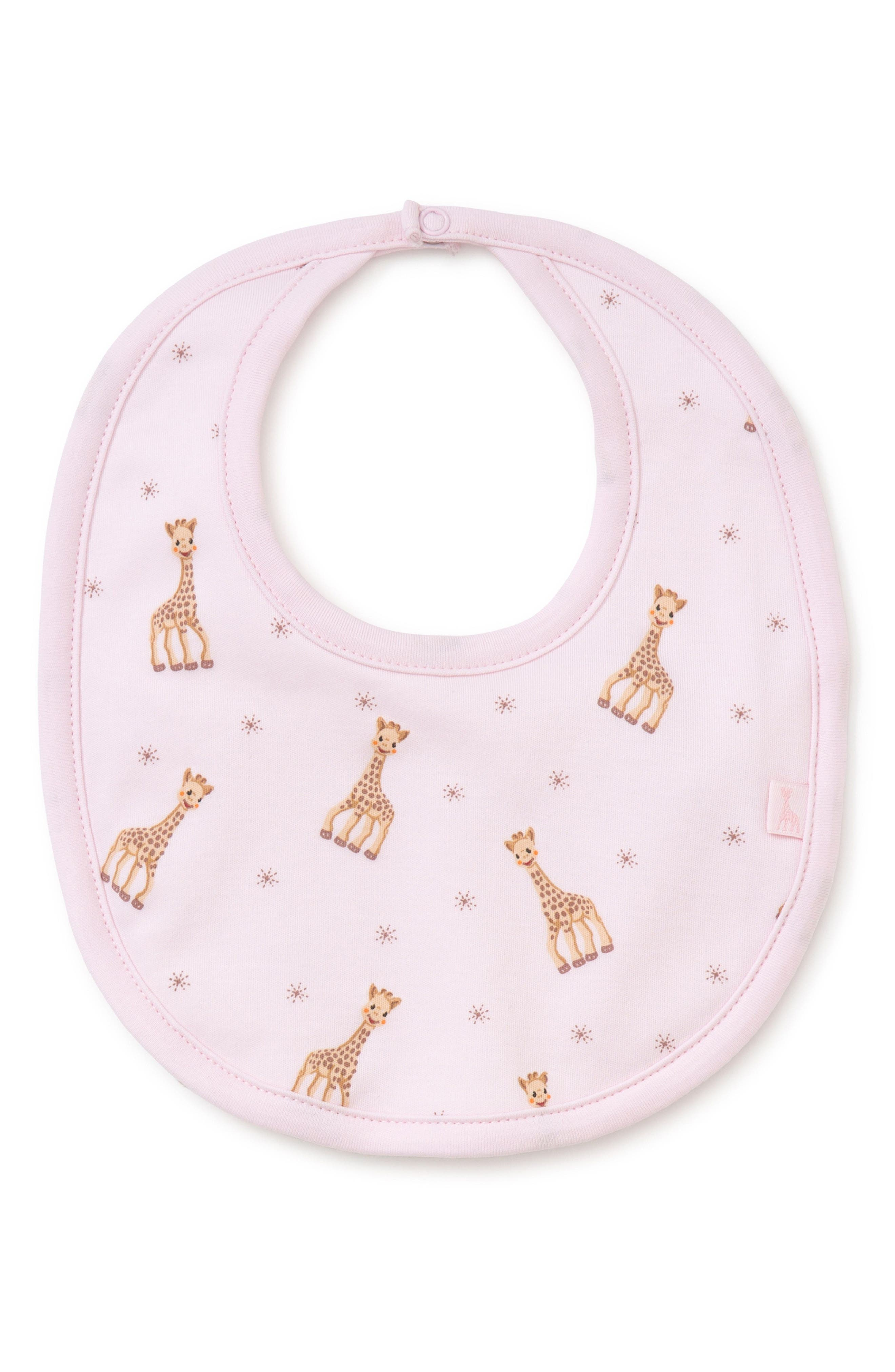 x Sophie la Girafe Bib,                             Main thumbnail 1, color,                             Pink
