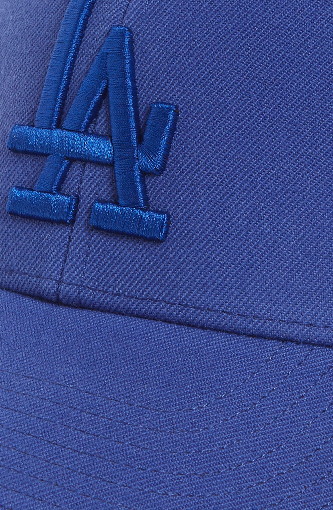MVP LA Dodgers Baseball Cap,                             Alternate thumbnail 3, color,                             Royal