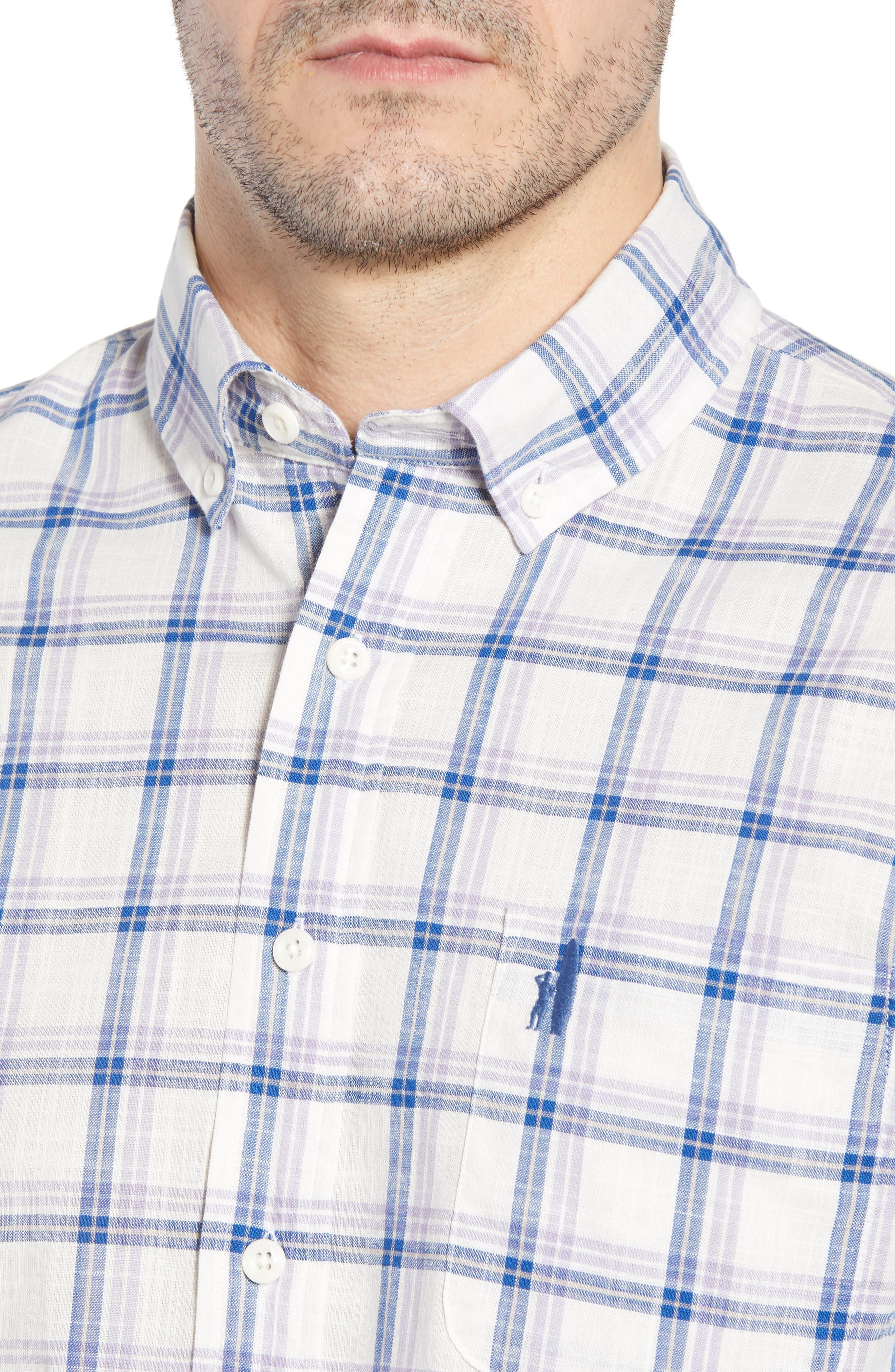 Davis Regular Fit Sport Shirt,                             Alternate thumbnail 2, color,                             Lilac