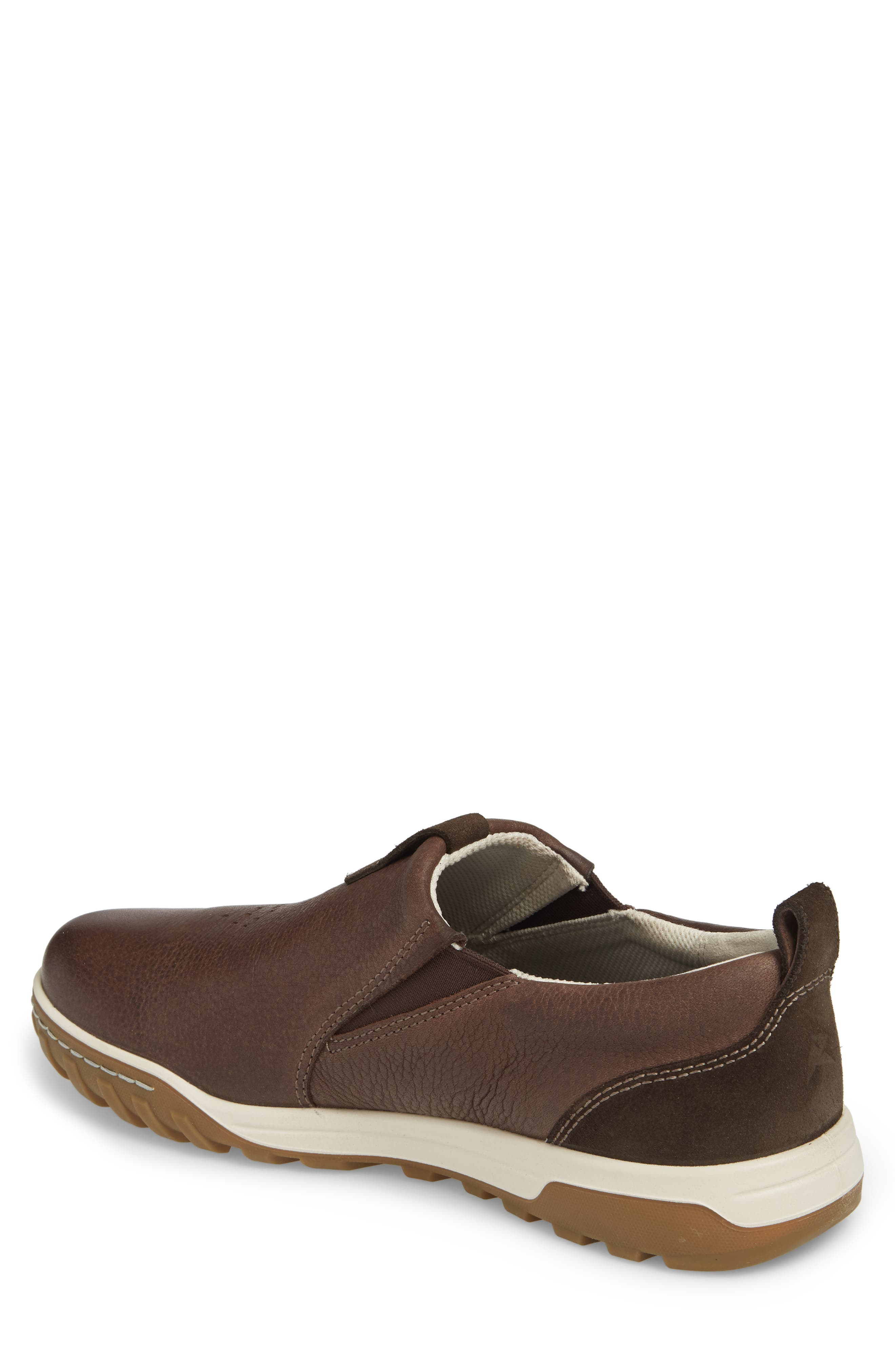 Urban Lifestyle Slip-On Sneaker,                             Alternate thumbnail 2, color,                             Coffee Leather