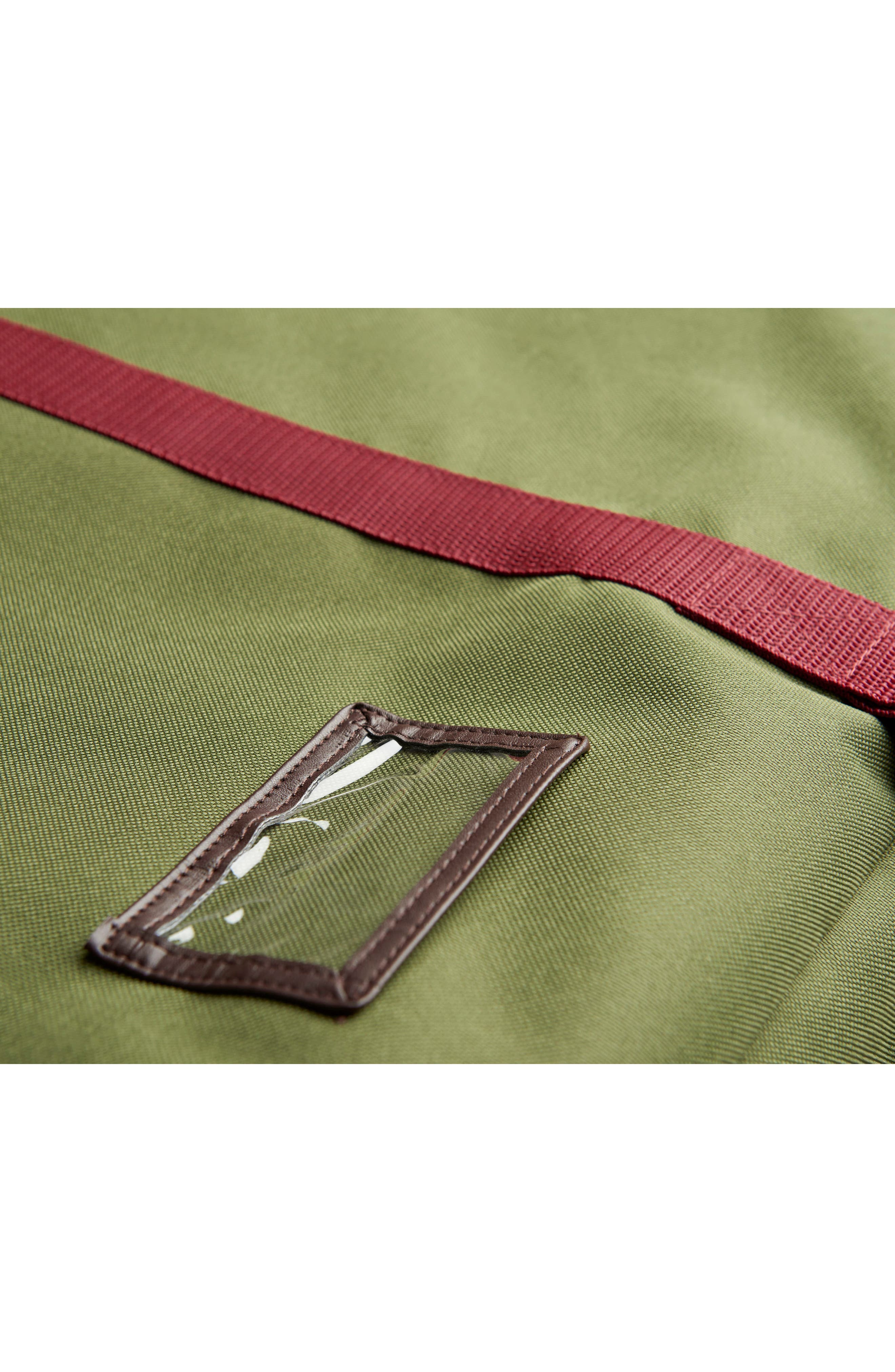 Grand Transport Bag,                             Alternate thumbnail 4, color,                             Moss Green