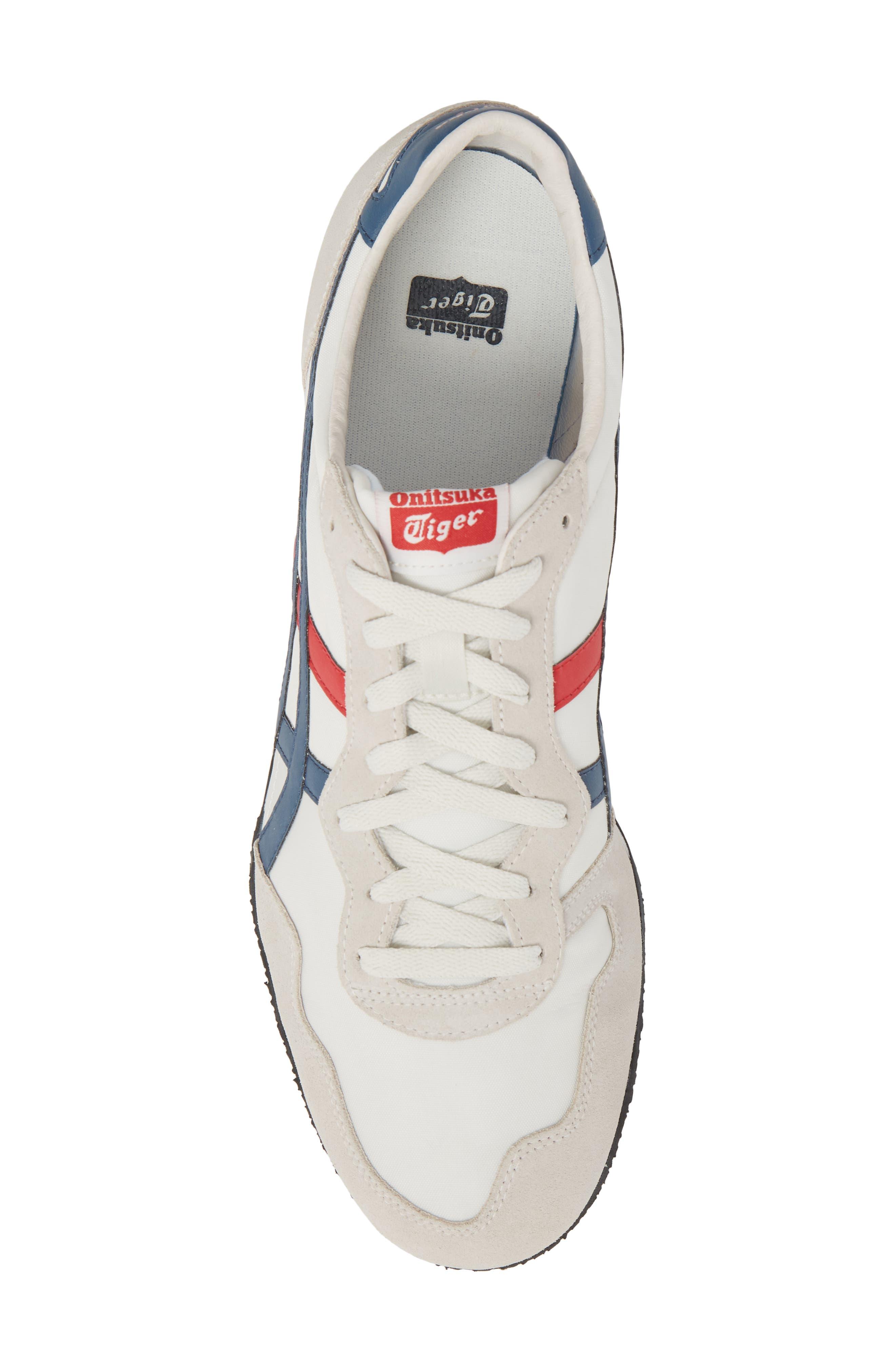 'Serrano' Sneaker,                             Alternate thumbnail 5, color,                             White/ Mallard Blue