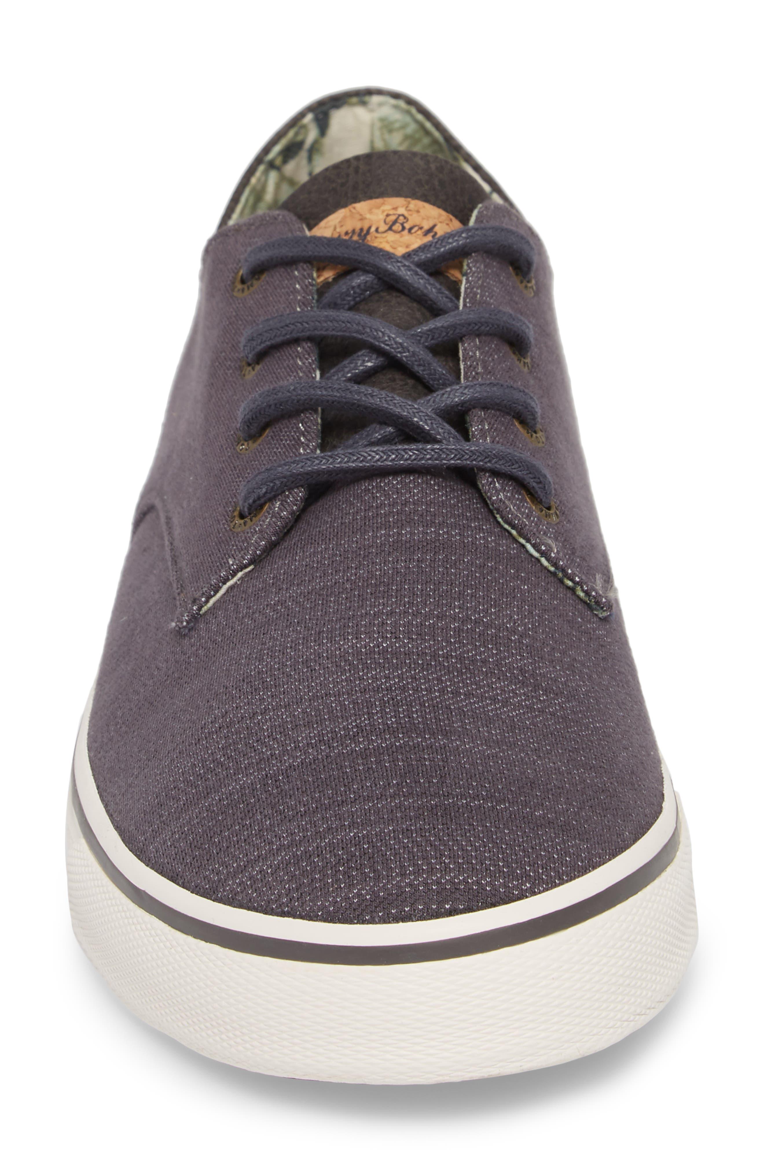 Dune Sneaker,                             Alternate thumbnail 4, color,                             Grey Denim