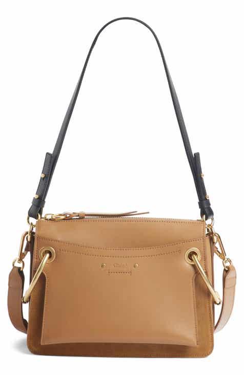 6d7867cc45b5 Chloé Small Roy Leather Shoulder Bag