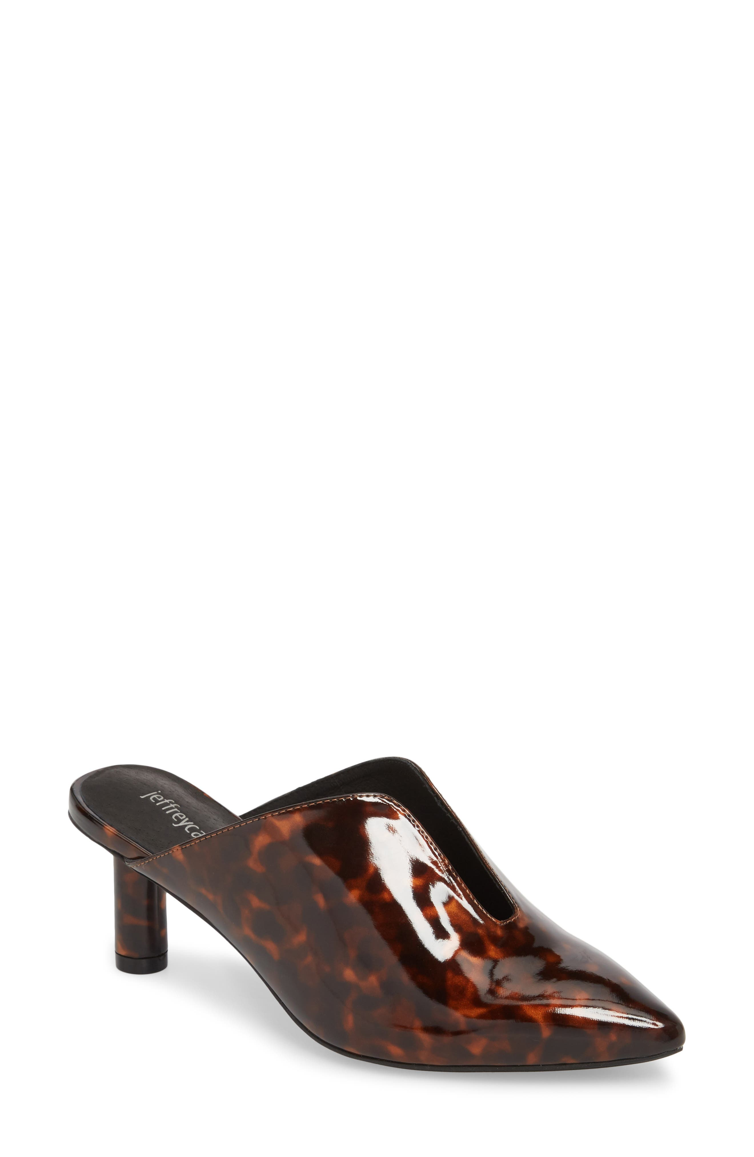 Saltaire Pointy Toe Mule,                         Main,                         color, Tortoise