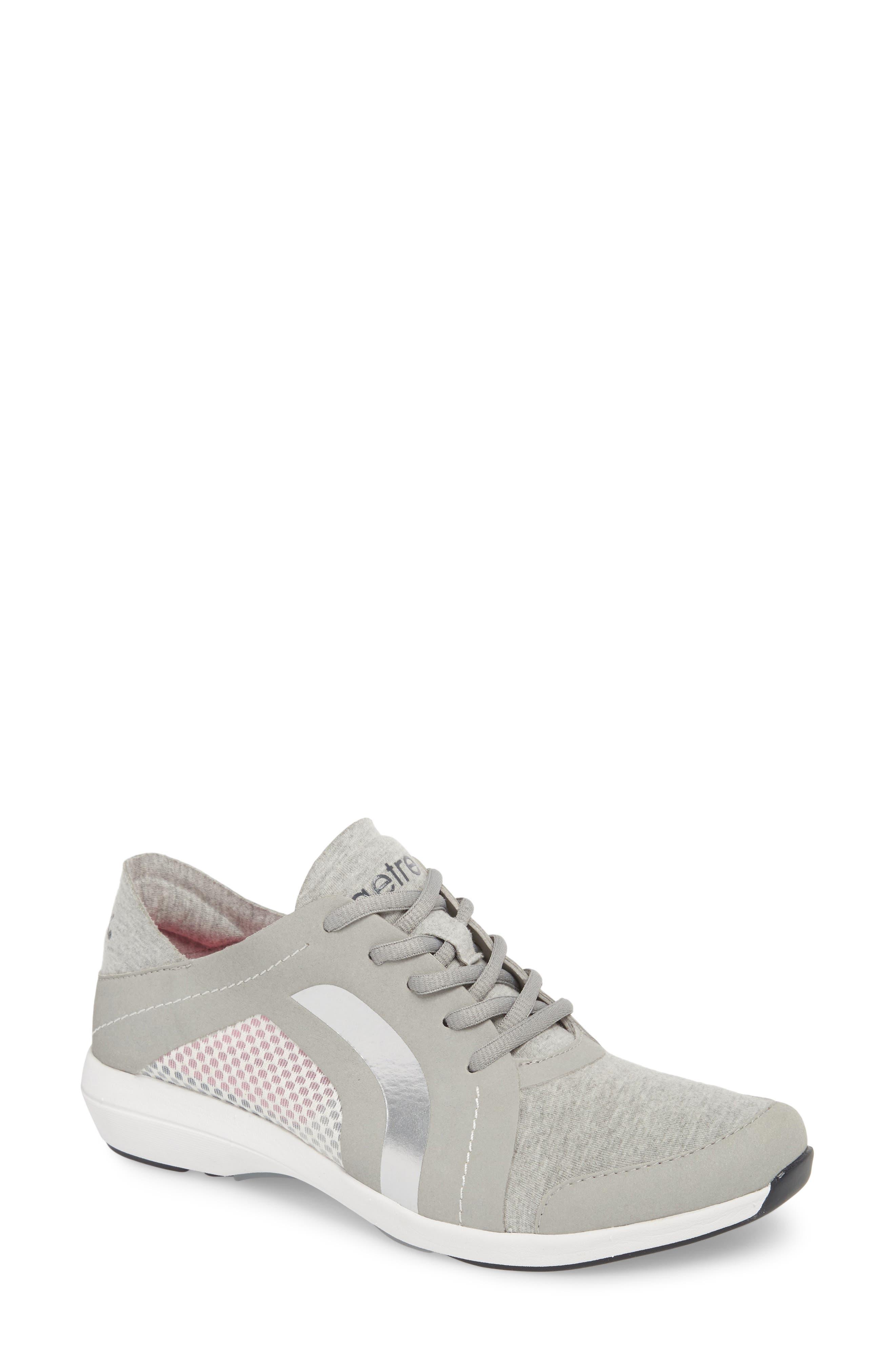 Sloane Sneaker,                         Main,                         color, Grey Fabric