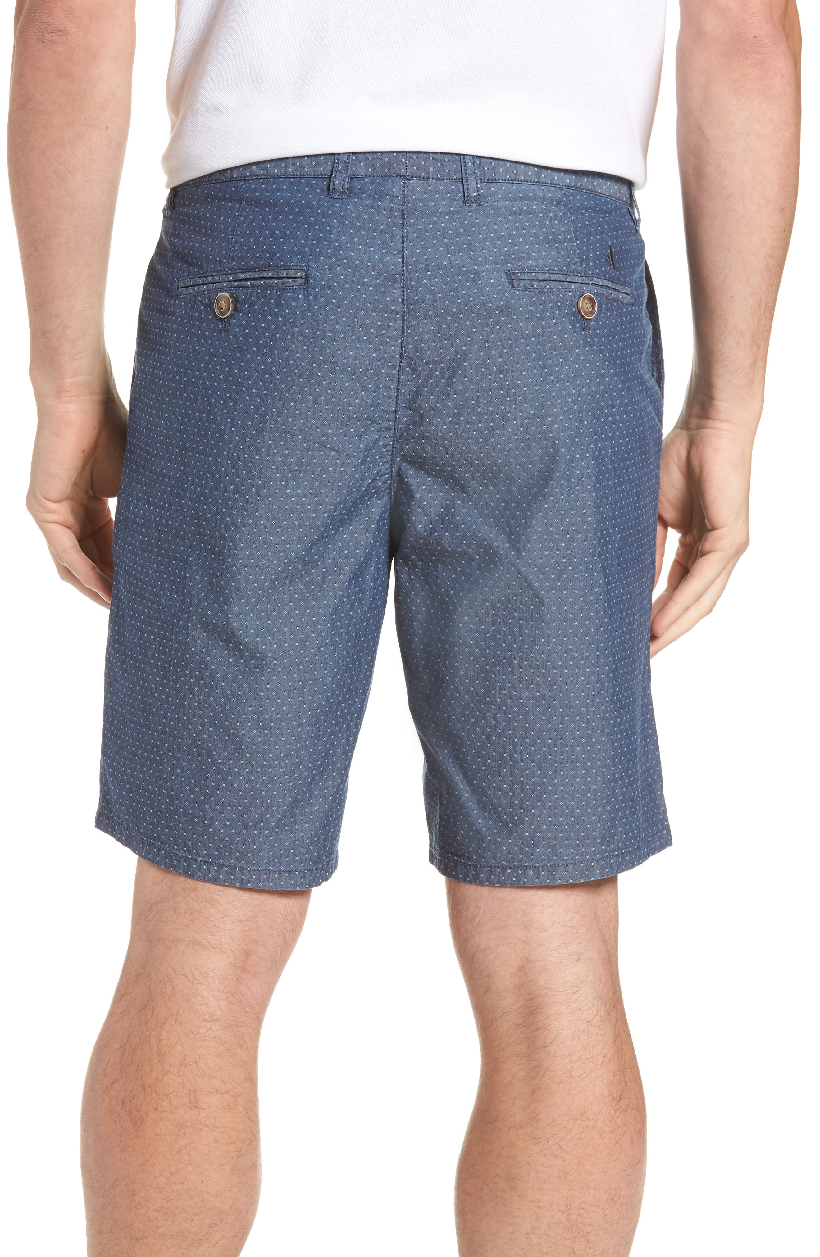 Oliver Classic Fit Chambray Jacquard Shorts,                             Alternate thumbnail 2, color,                             Chambray