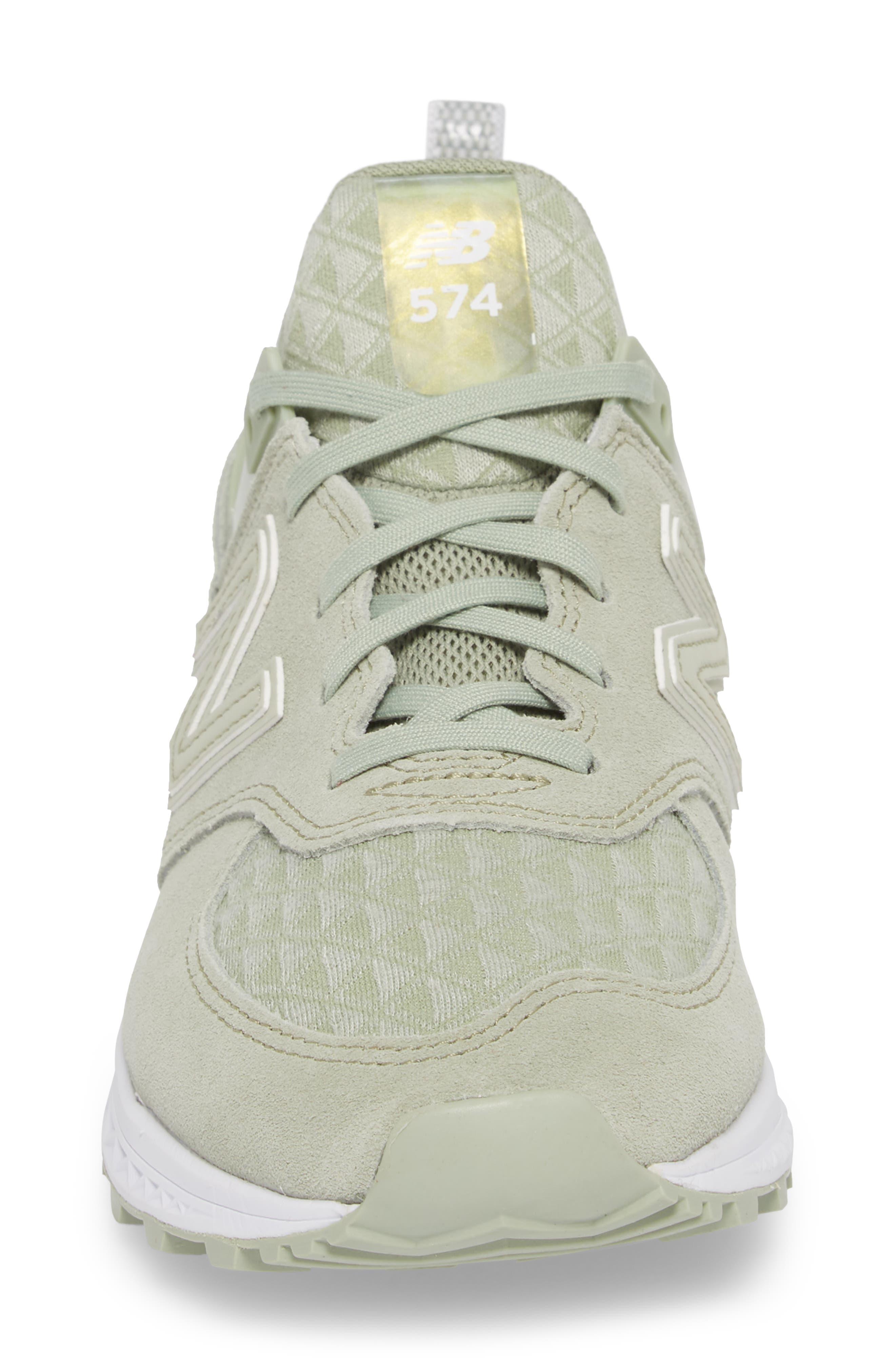 '574' Sneaker,                             Alternate thumbnail 4, color,                             Silver Mint
