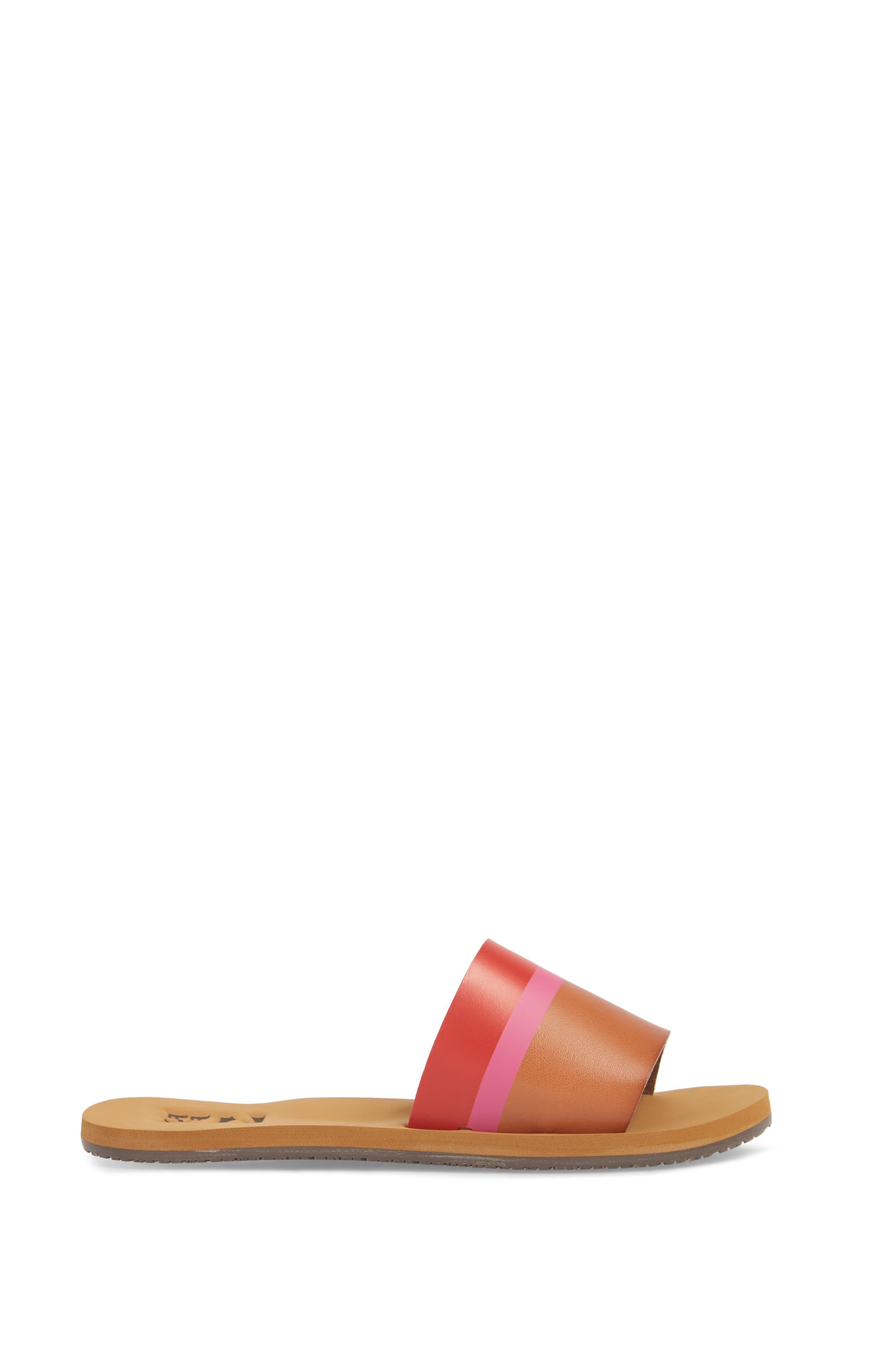Slide Sandal,                             Alternate thumbnail 3, color,                             Multi
