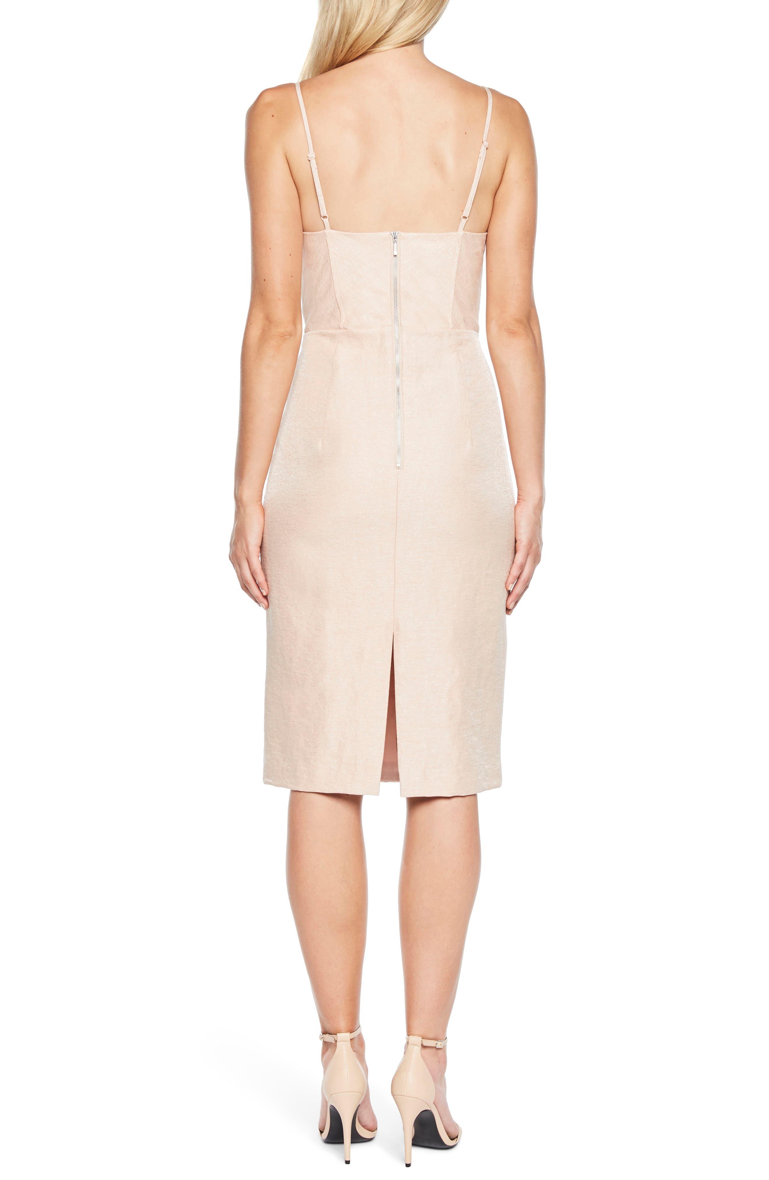 Esta Corset Dress,                             Alternate thumbnail 2, color,                             Prosecco