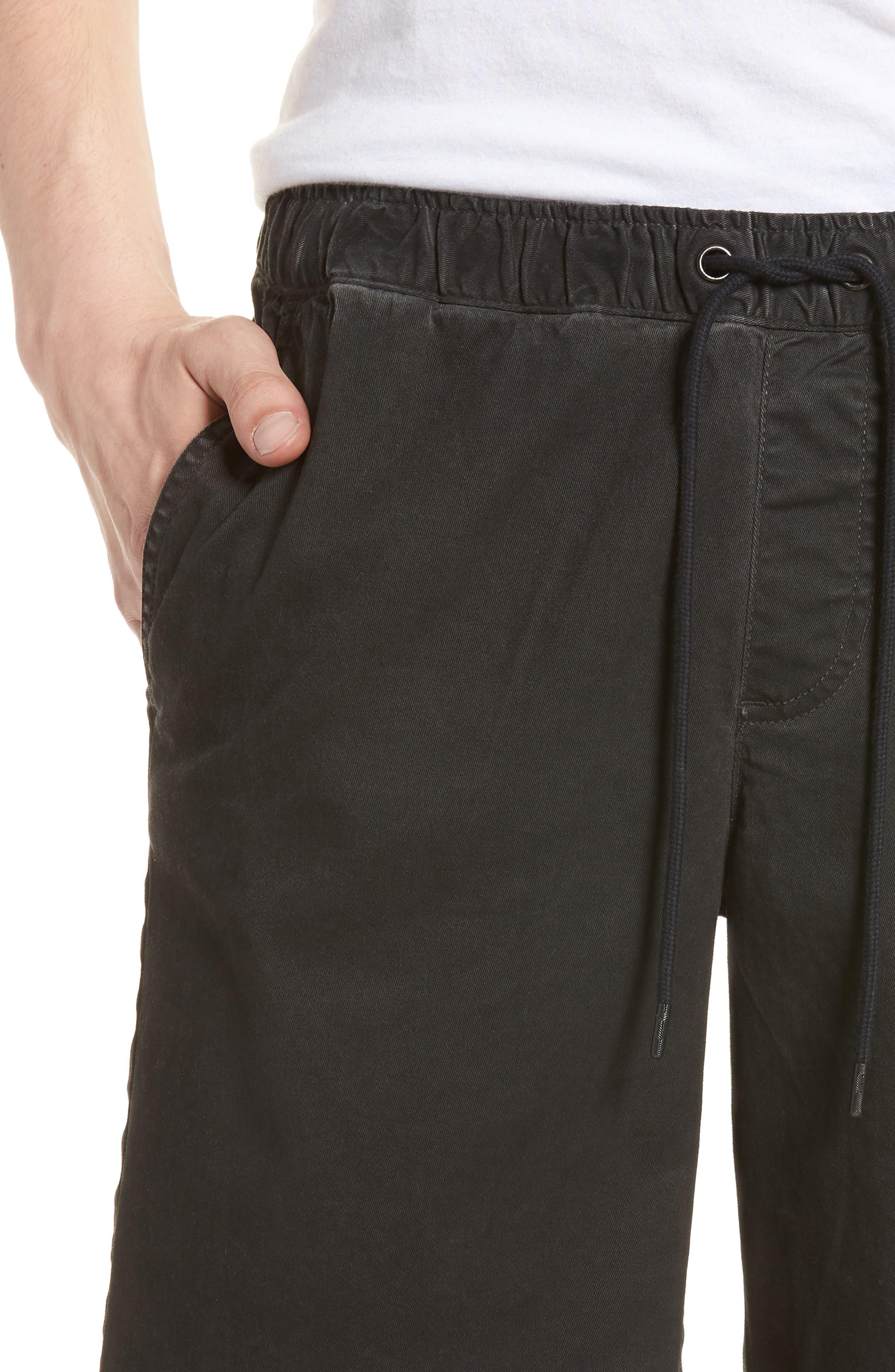 Pigment Dye Volley Shorts,                             Alternate thumbnail 4, color,                             Grey Onyx