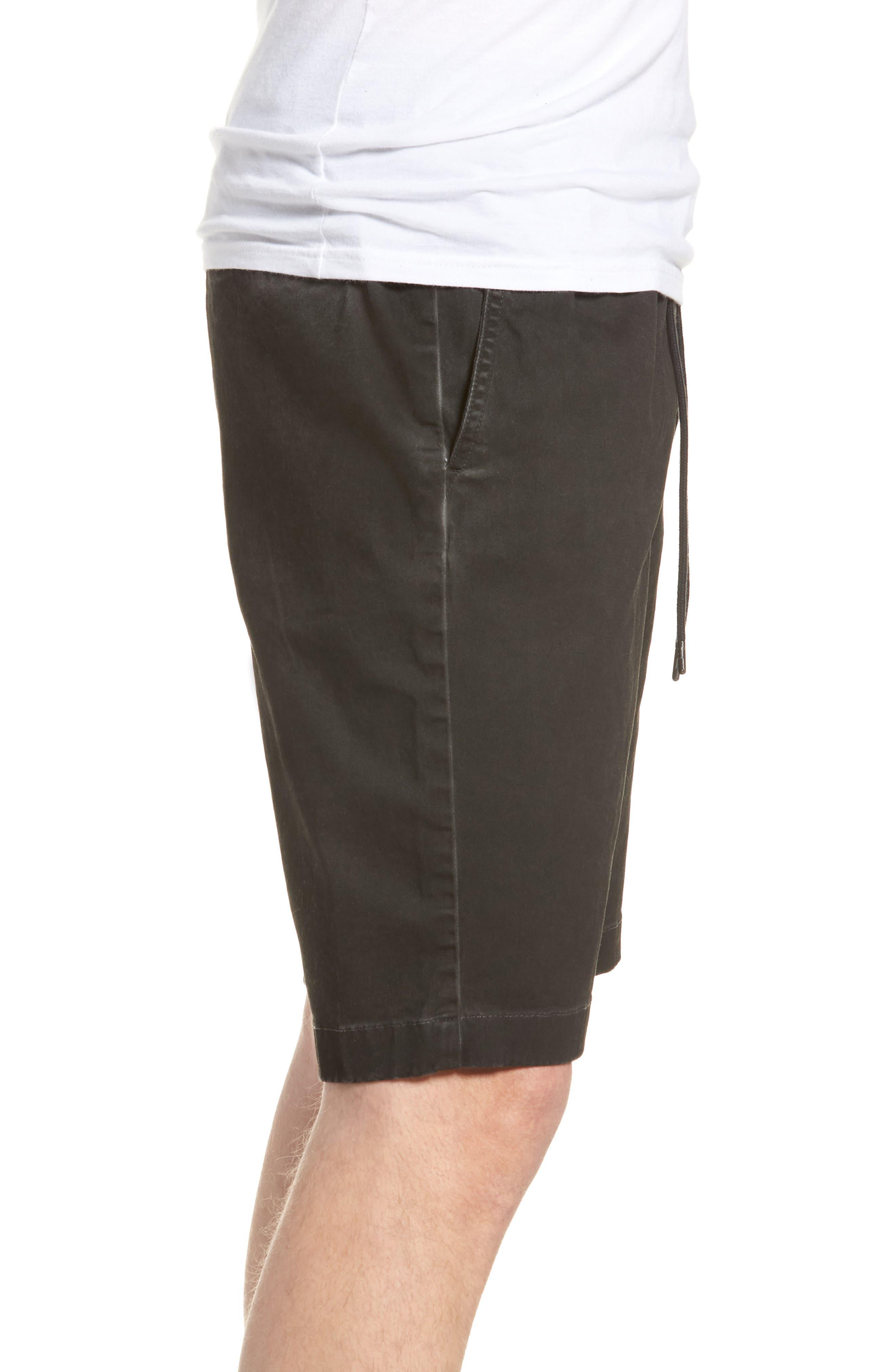 Pigment Dye Volley Shorts,                             Alternate thumbnail 3, color,                             Grey Onyx
