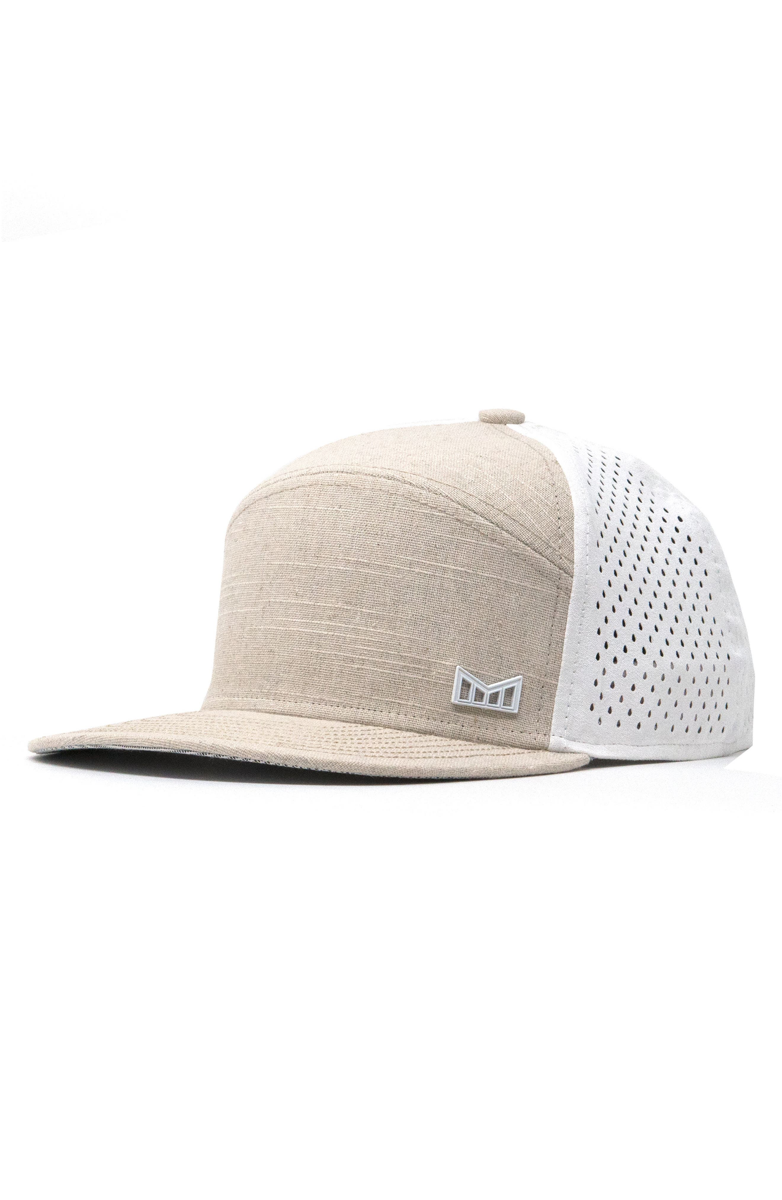 MELIN TRENCHES SNAPBACK BASEBALL CAP - BEIGE