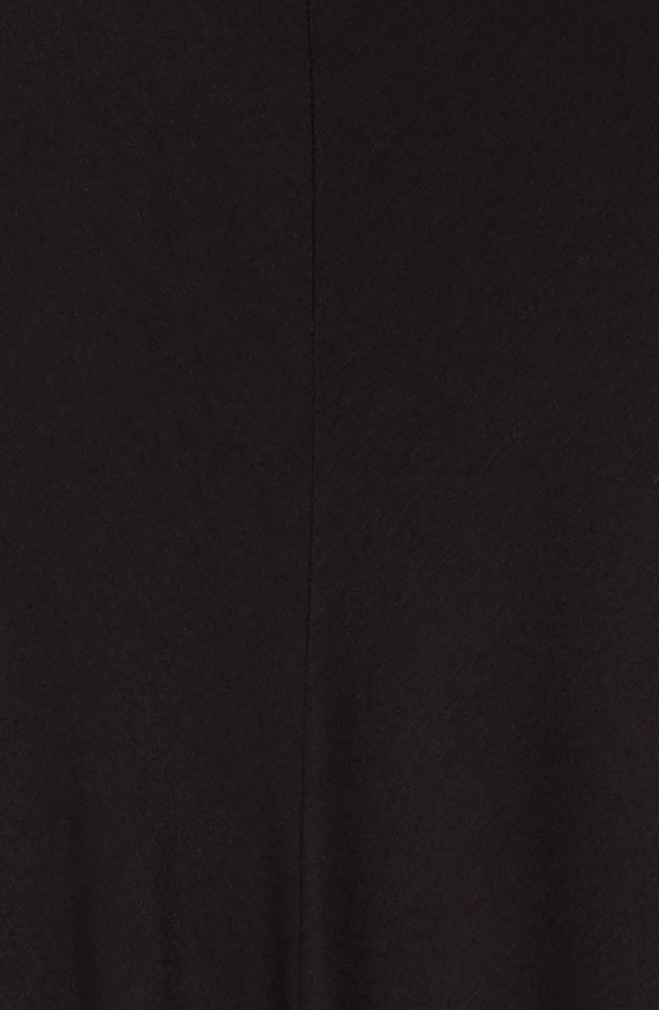 Strappy Dress,                             Alternate thumbnail 3, color,                             Black