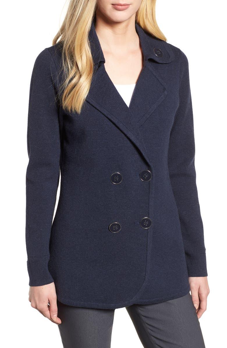 Polished Peacoat Jacket