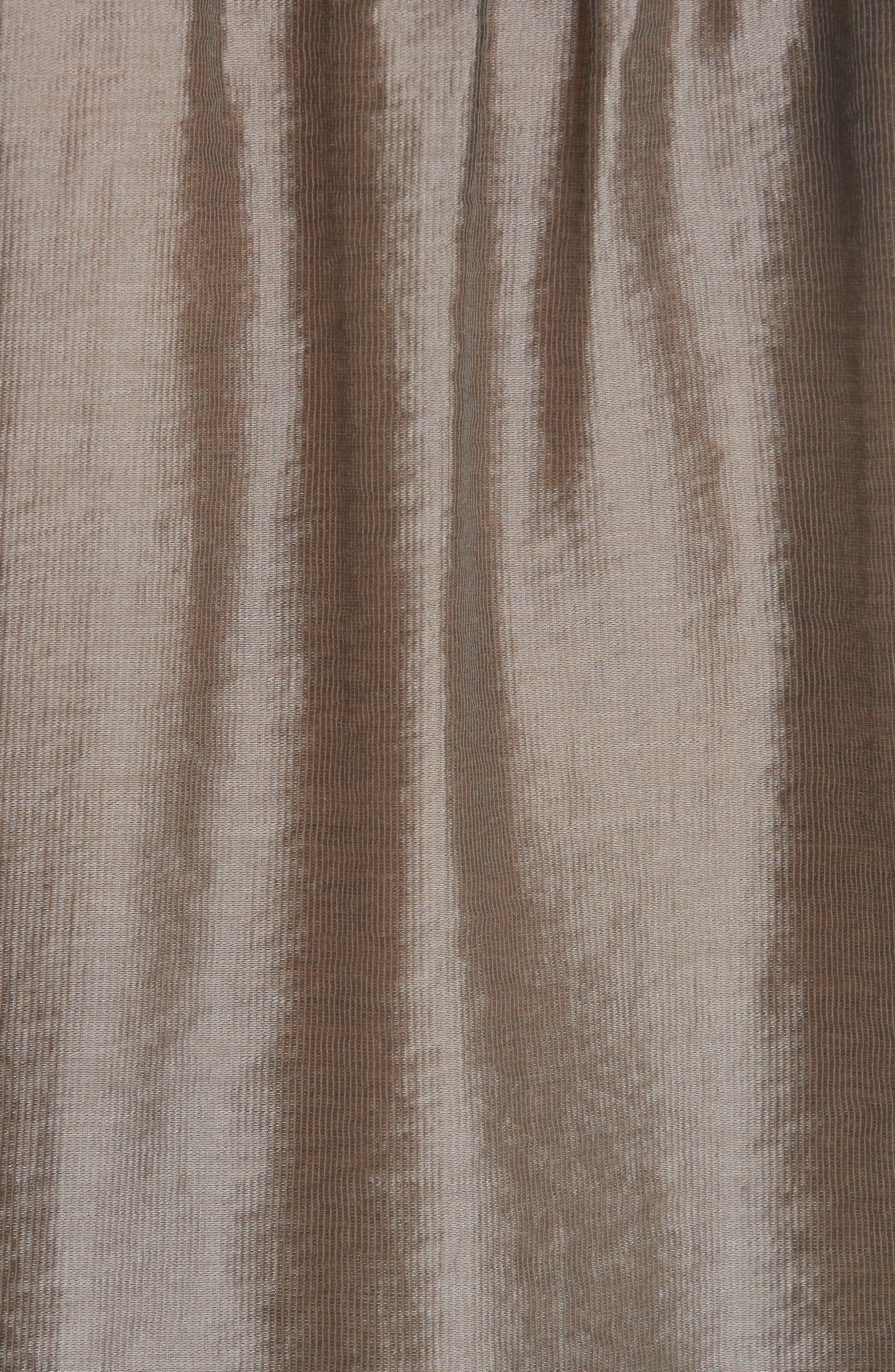Lidelle Tie Front Tunic Top,                             Alternate thumbnail 5, color,                             Moss