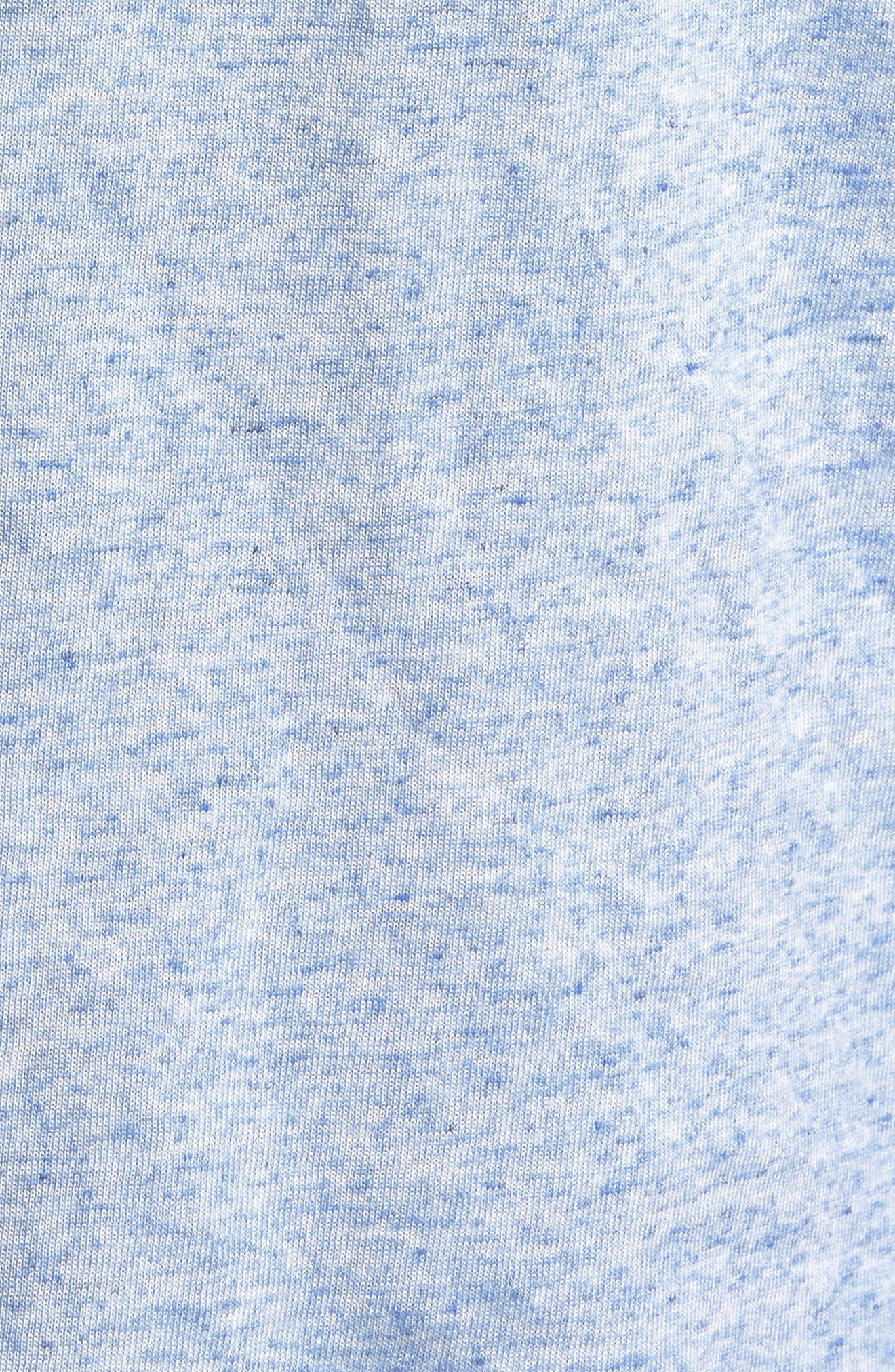 Heathered Polo,                             Alternate thumbnail 3, color,                             Blue Lake Heather