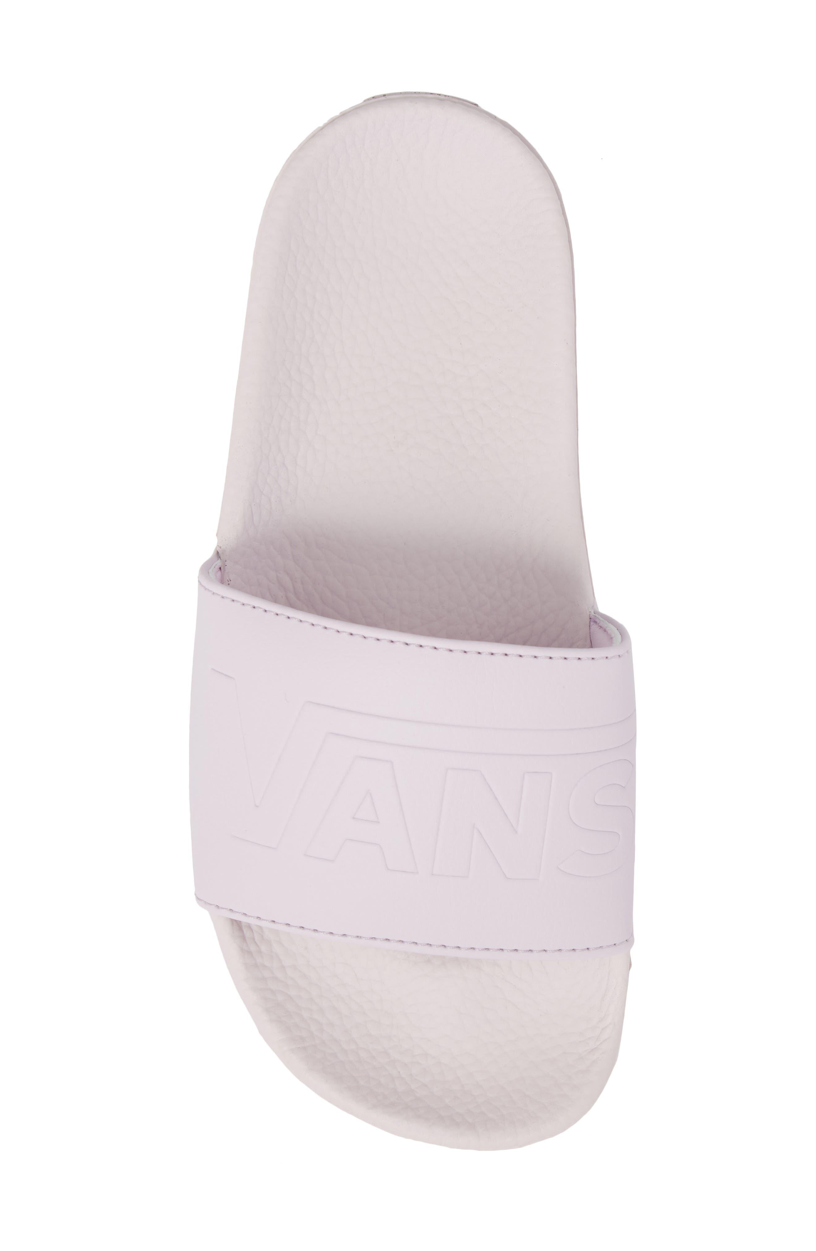 Slide-On Sandal,                             Alternate thumbnail 6, color,                             Lavender Fog