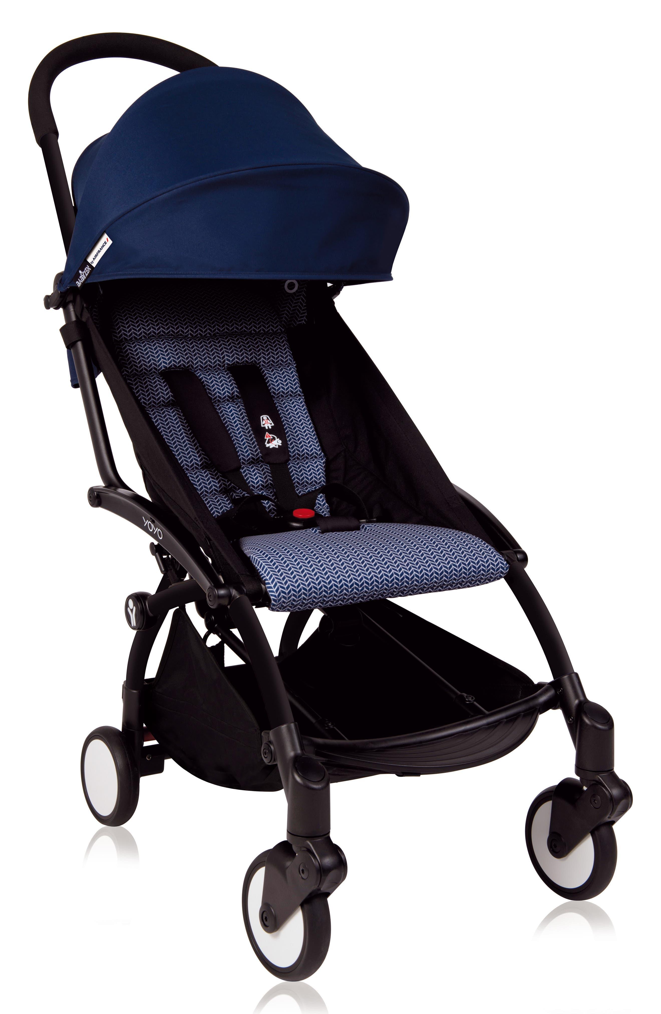 YOYO+ Color Pack Seat/Canopy Set,                             Main thumbnail 1, color,                             Air France Blue
