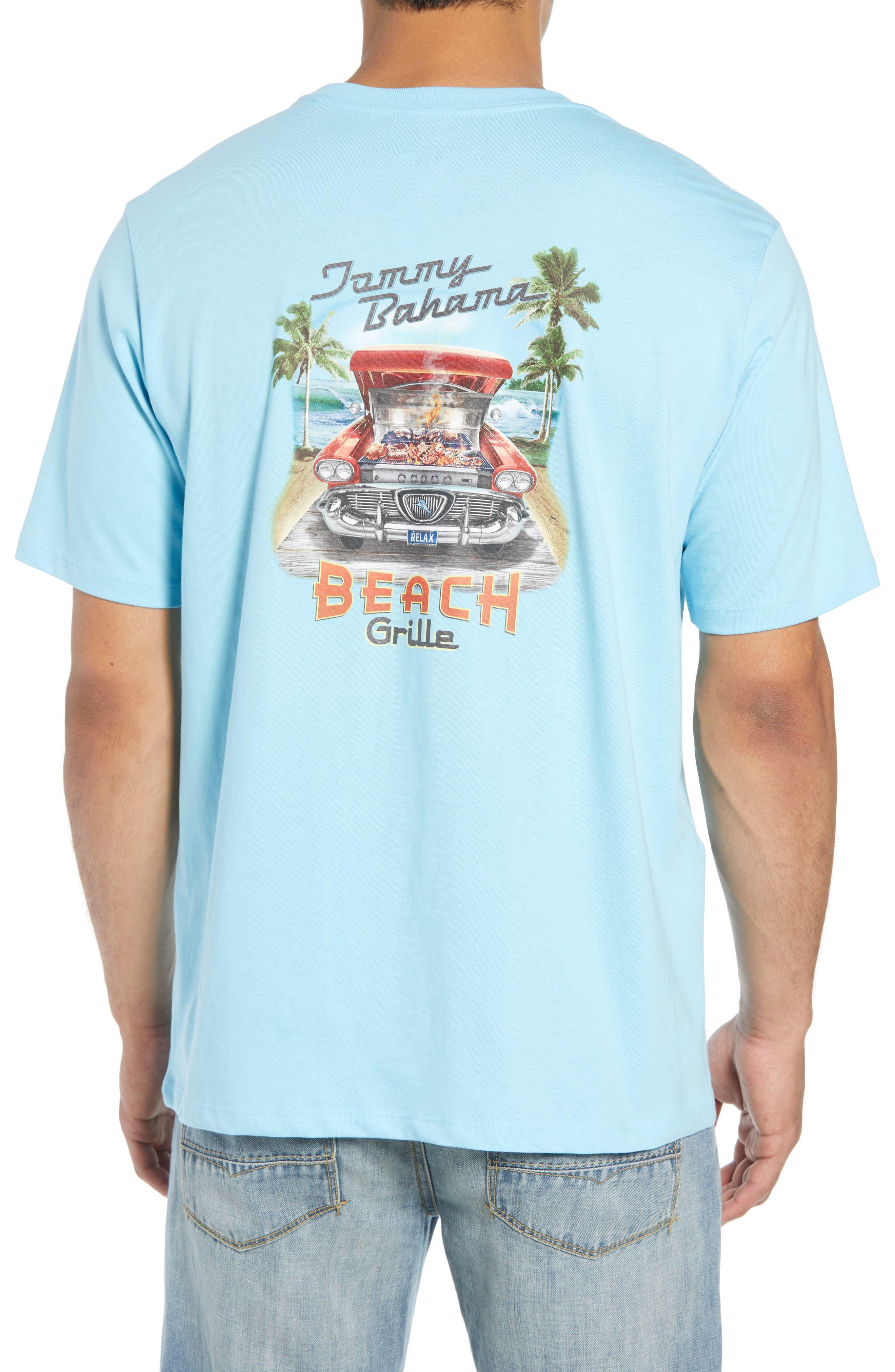 Beach Grille T-Shirt,                             Alternate thumbnail 2, color,                             Bowtie Blue