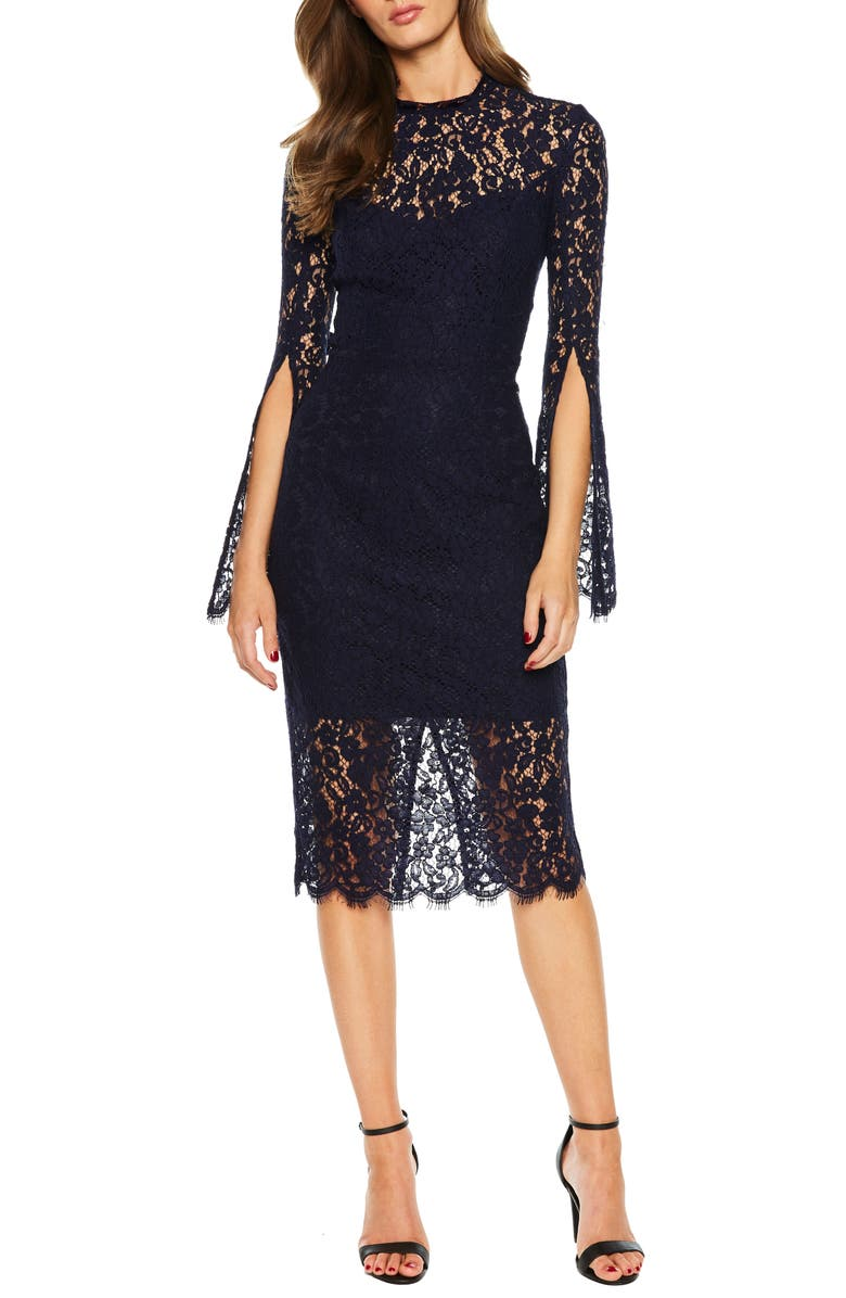 Sienna Lace Cocktail Dress