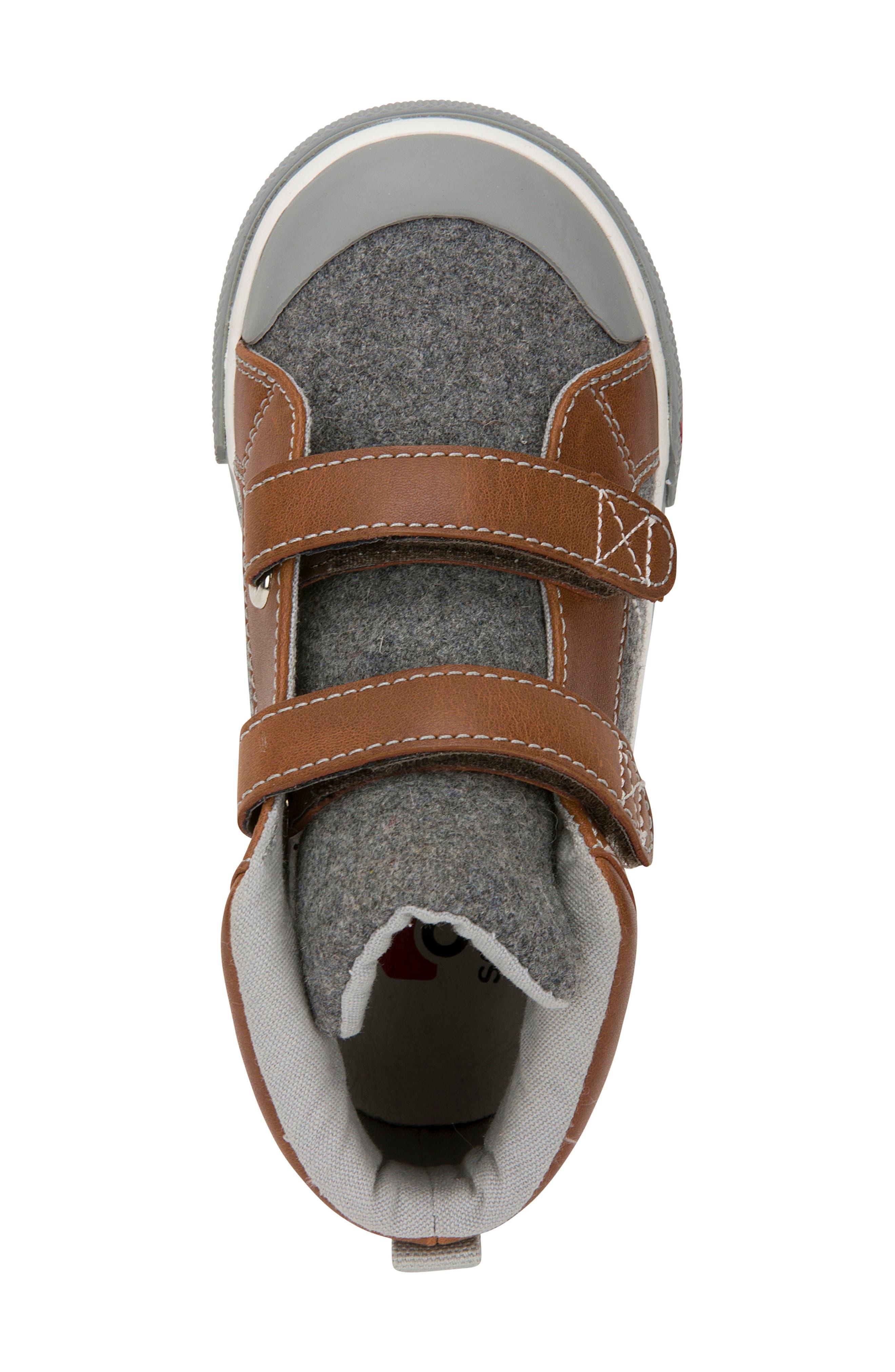 Matty Sneaker,                             Alternate thumbnail 4, color,                             Gray Felt