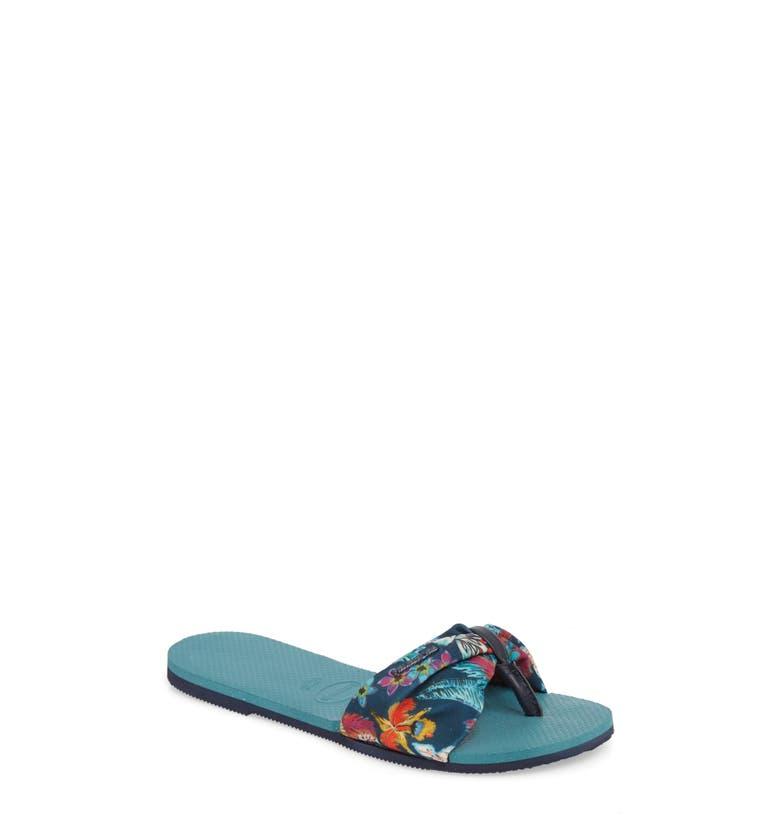 476615b262cb3 Havaianas You Saint Tropez Sandal In Mineral Blue