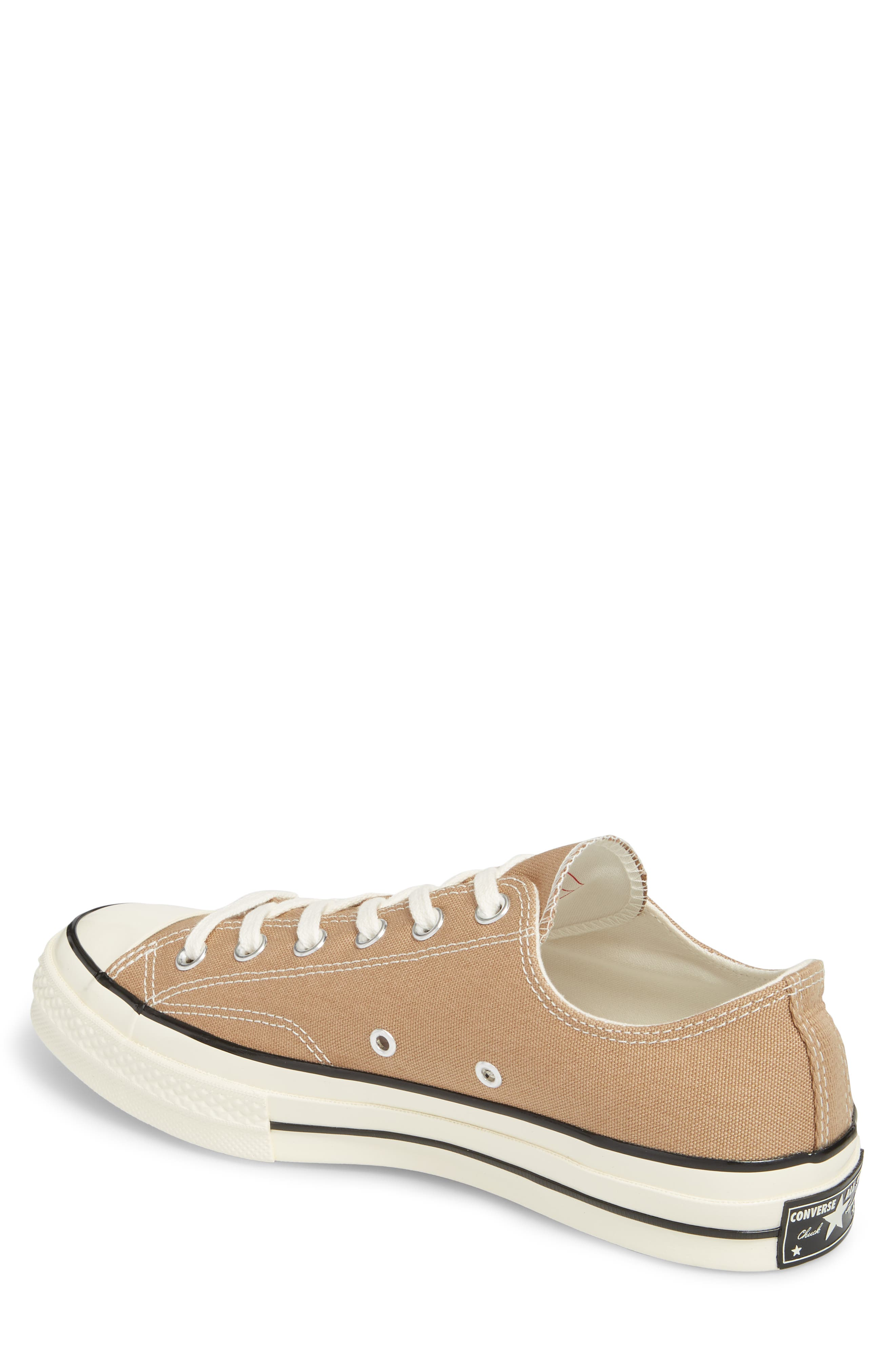 Chuck Taylor<sup>®</sup> All Star<sup>®</sup> 70 Heritage Sneaker,                             Alternate thumbnail 2, color,                             Teak Canvas