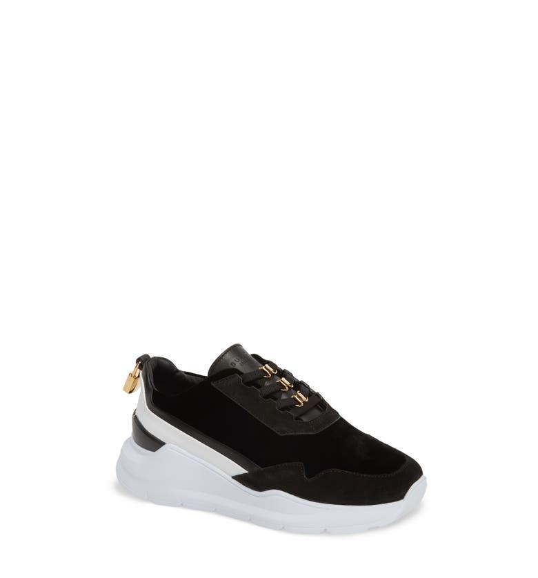 Strada Velvet Lace-Up Sneaker (Nordstrom Exclusive)