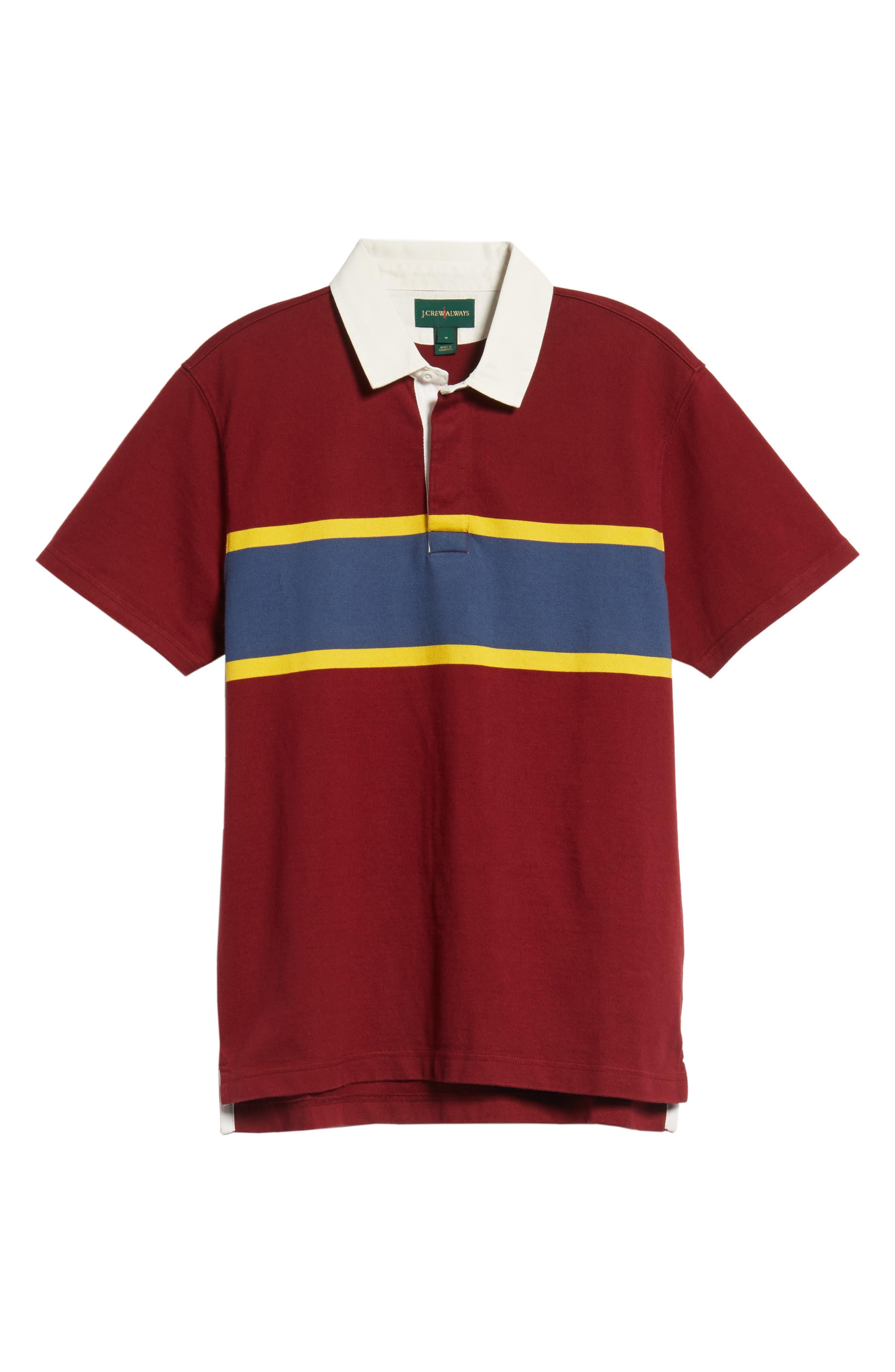 1984 Rugby Shirt,                             Alternate thumbnail 6, color,                             Mahogany
