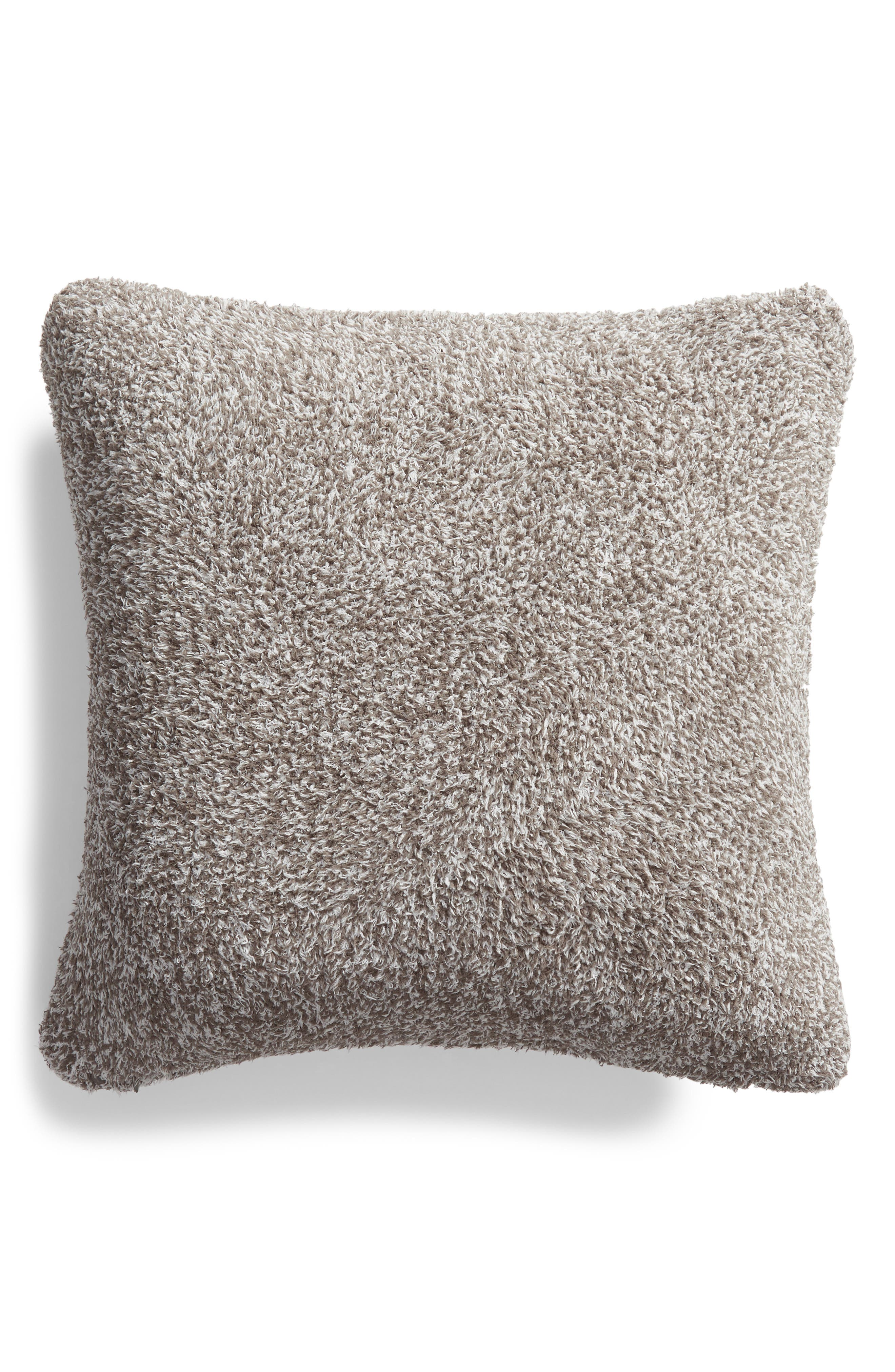 Cozychic<sup>®</sup> Heathered Accent Pillow,                             Alternate thumbnail 2, color,                             Charcoal/ White