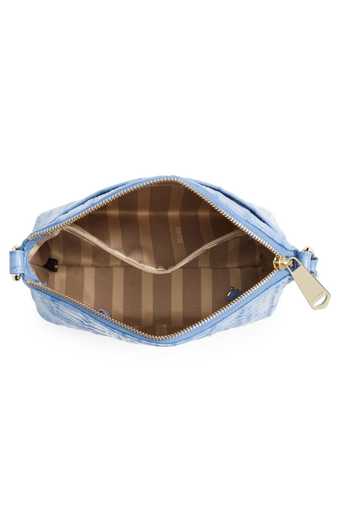 Alternate Image 4  - Brahmin 'Mini Duxbury' Croc Embossed Leather Crossbody Bag