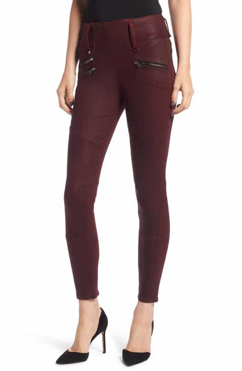 Hudson Jeans High Waist Coated Skinny Jeans by HUDSON