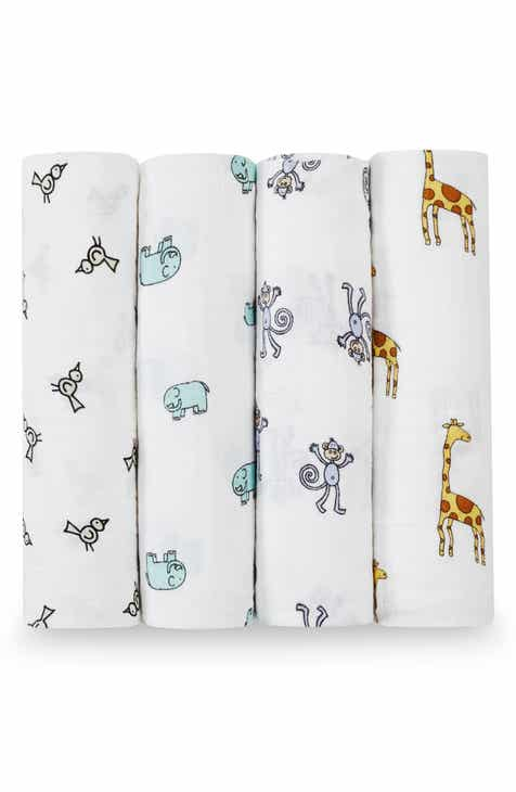 657d63a35d47 aden + anais Set of 4 Classic Swaddling Cloths