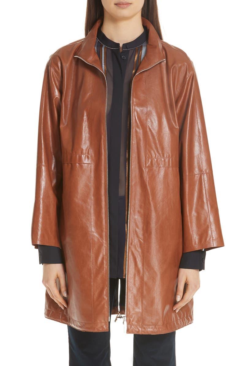 Minerva Leather Jacket