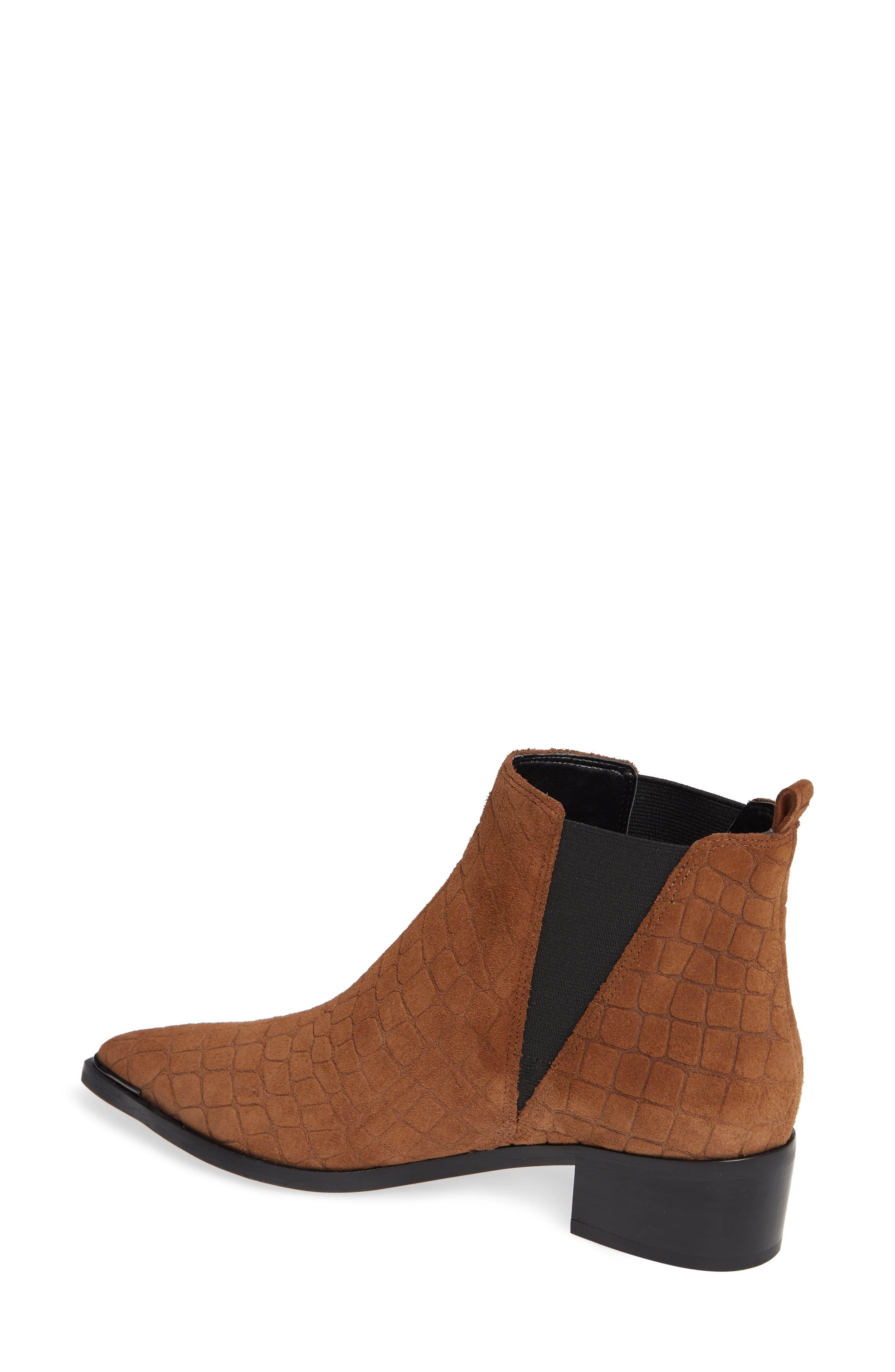 'Yale' Chelsea Boot,                             Alternate thumbnail 2, color,                             Cognac Suede