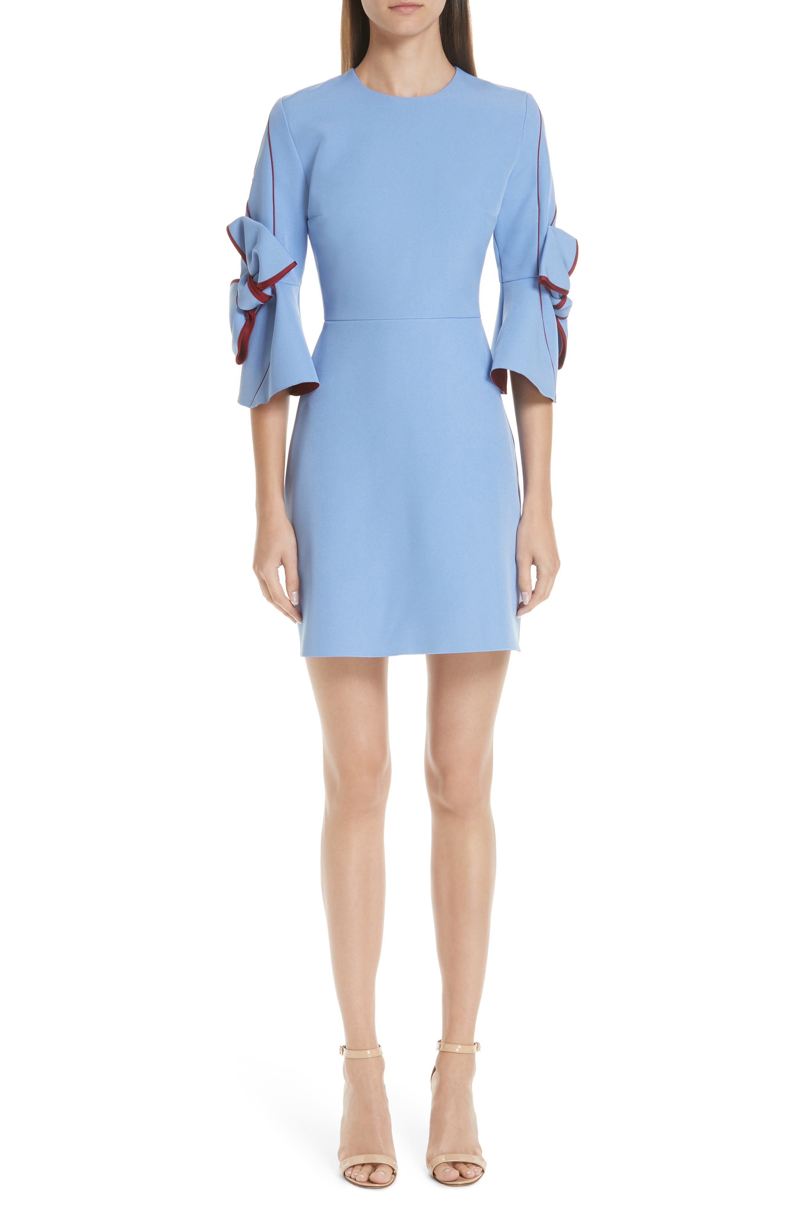 Dress for Women, Evening Cocktail Party, Pink, Viscose, 2017, 10 12 8 Versace