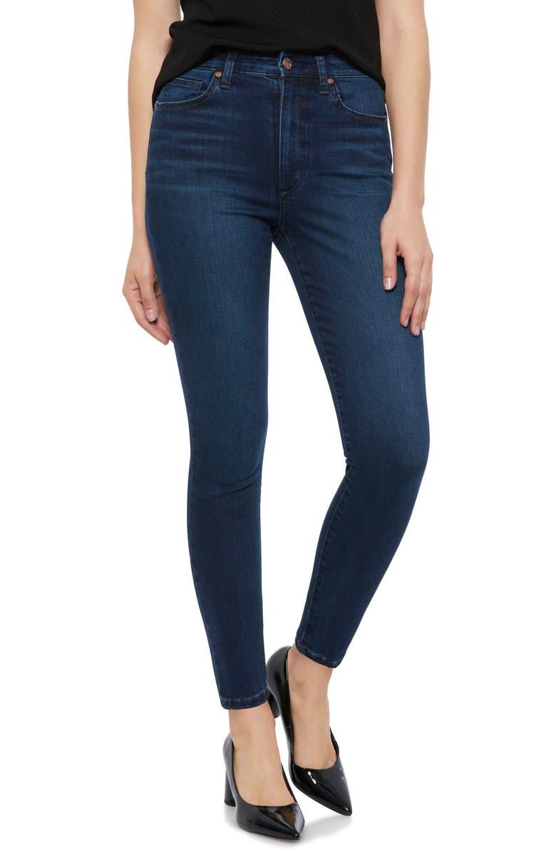 Charlie High Waist Ankle Skinny Jeans