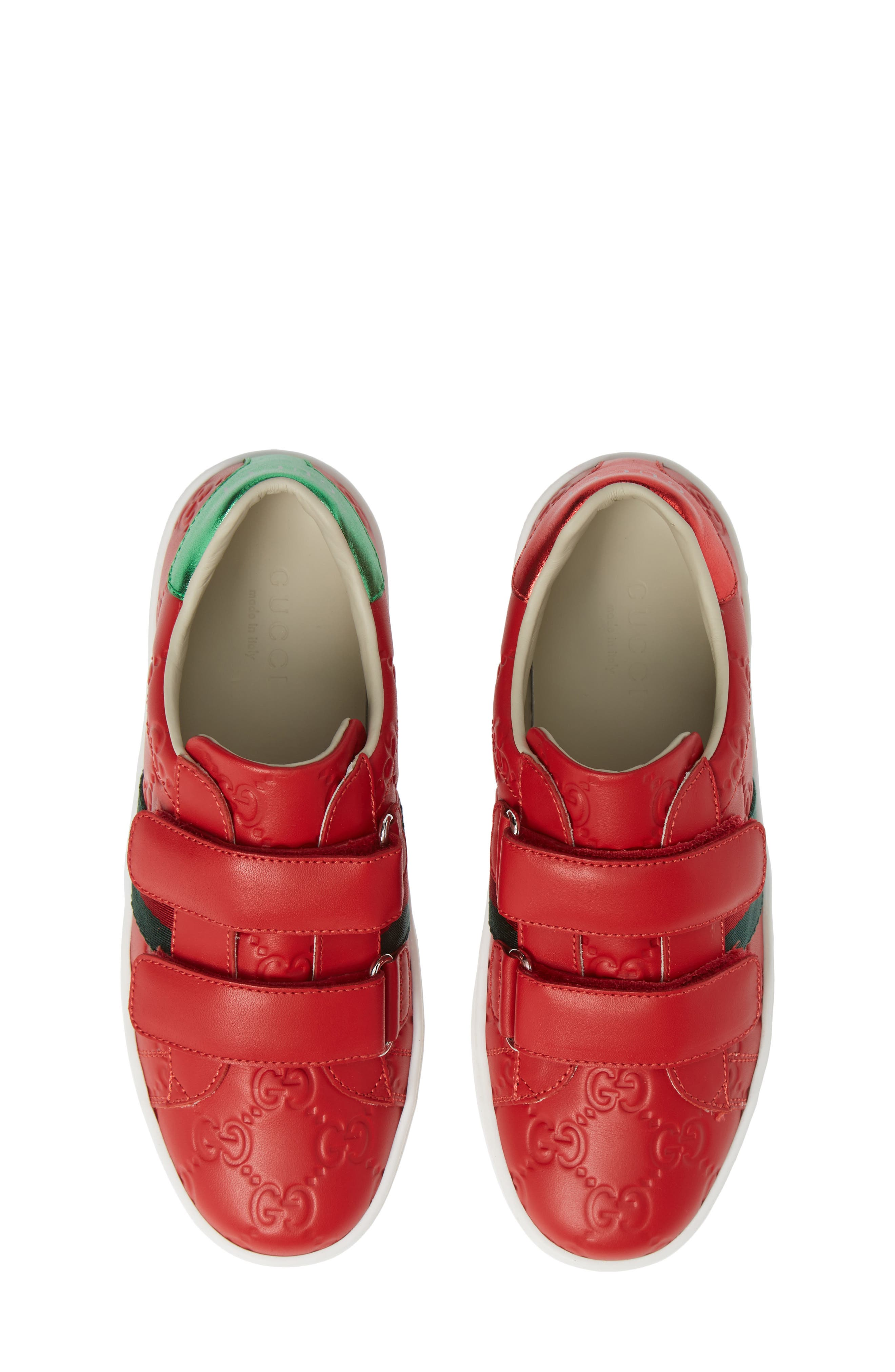 New Ace Sneaker,                         Main,                         color, Red