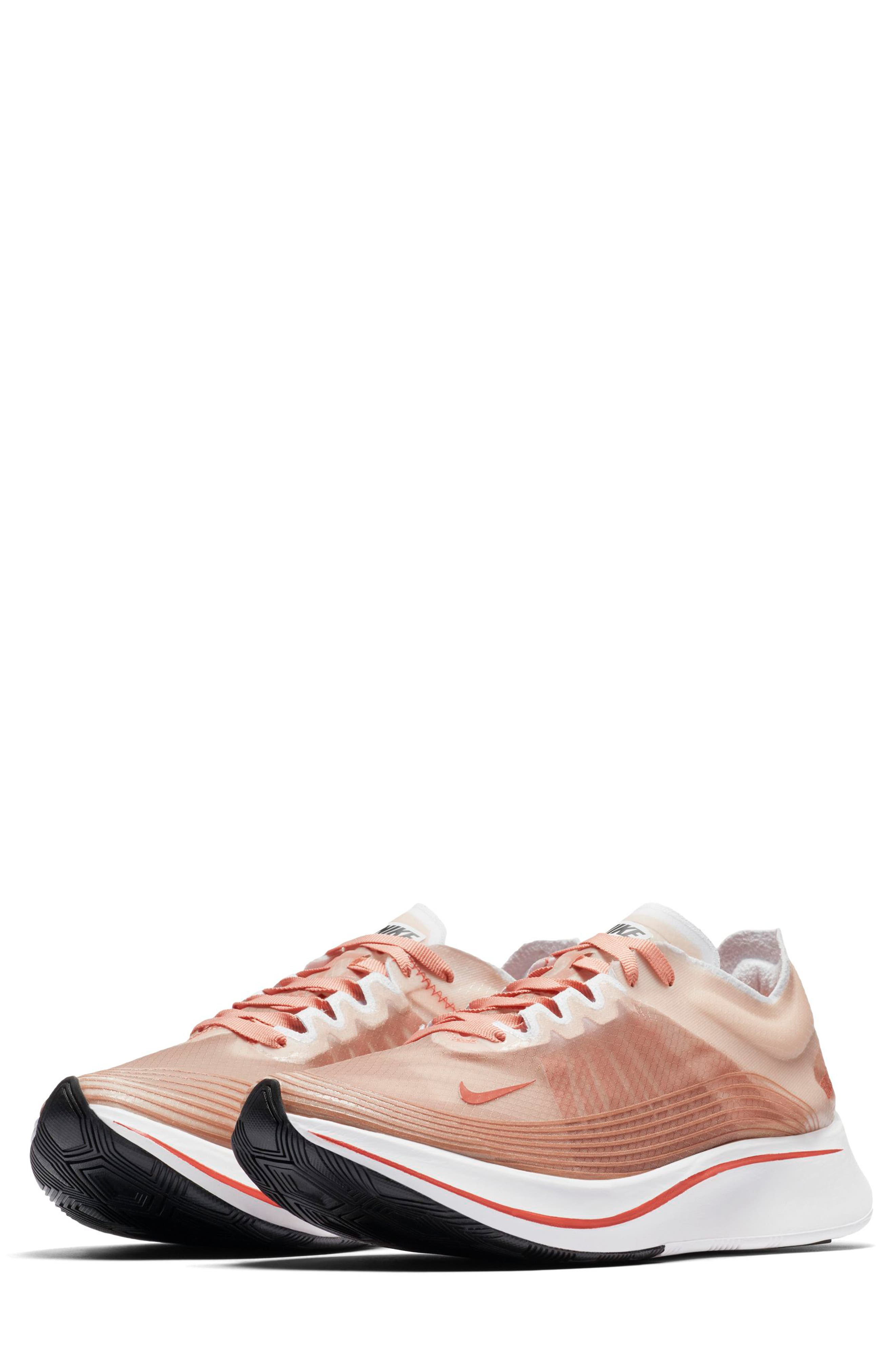 WOMEN'S ZOOM FLY SP RUNNING SHOES, PINK