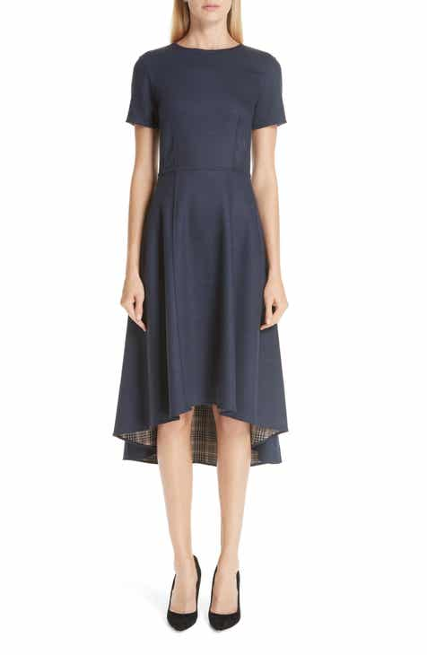 Adam Lippes Double Face High/Low Dress