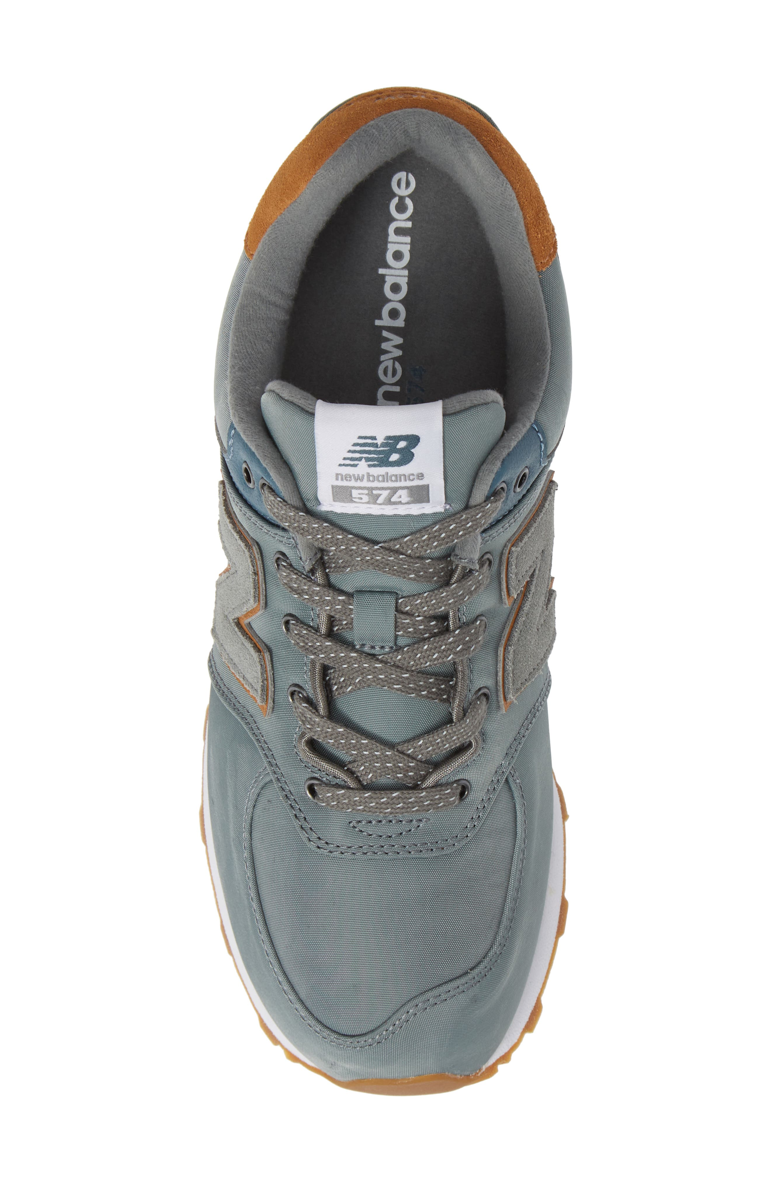 574 Essentials Sneaker,                             Alternate thumbnail 5, color,                             Sedona Sage