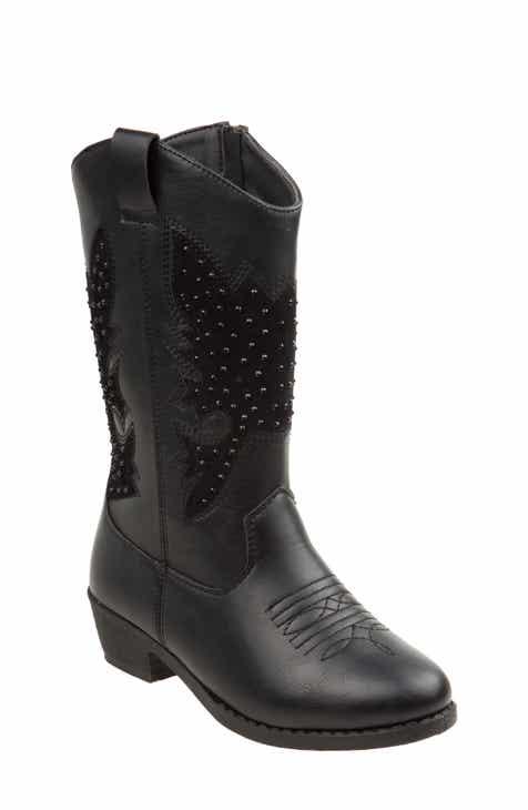 ca4e6fe20109 kensie girl Studded Western Boot (Toddler