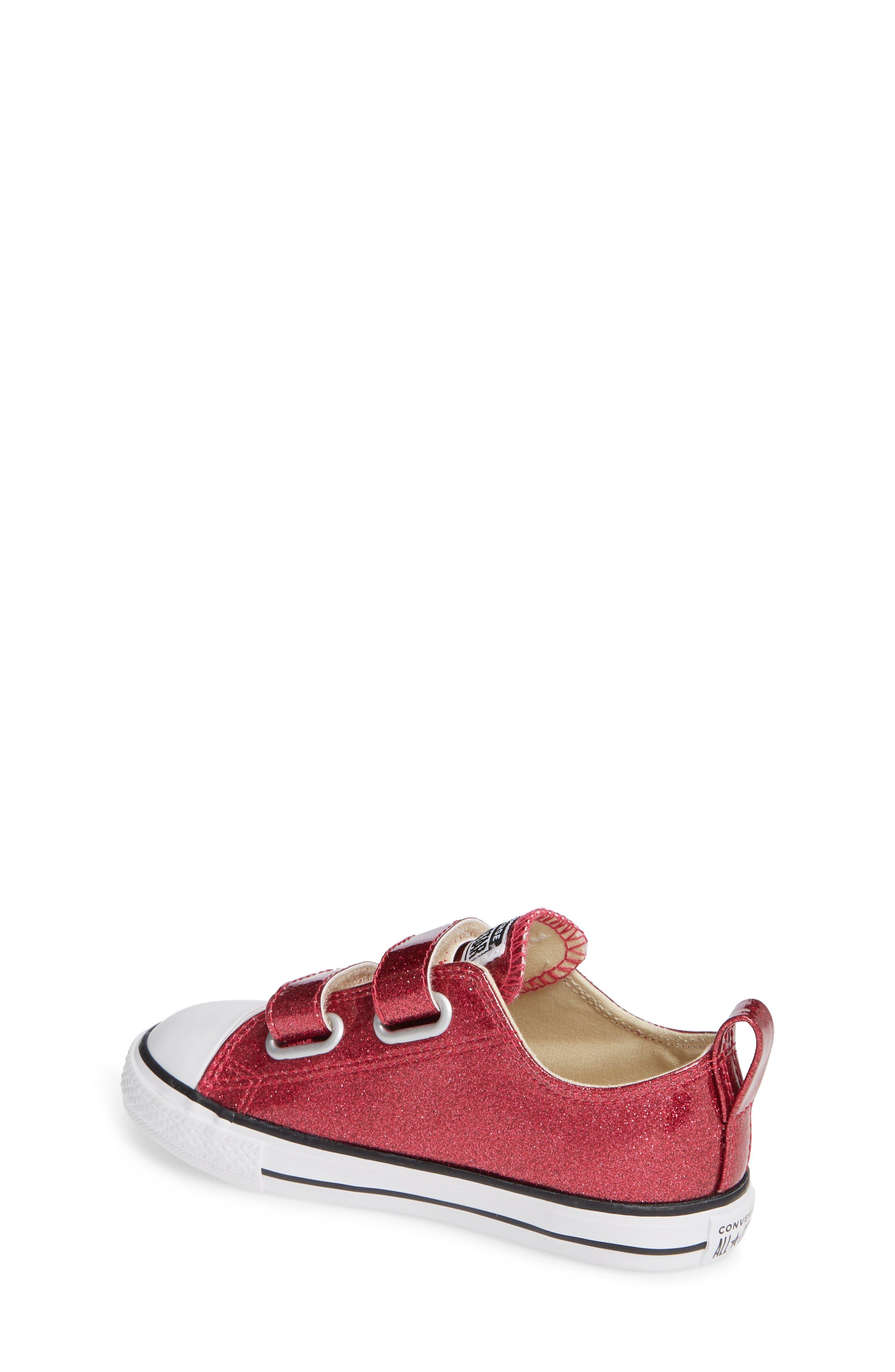 All Star<sup>®</sup> Seasonal Glitter Sneaker,                             Alternate thumbnail 2, color,                             Pink Pop
